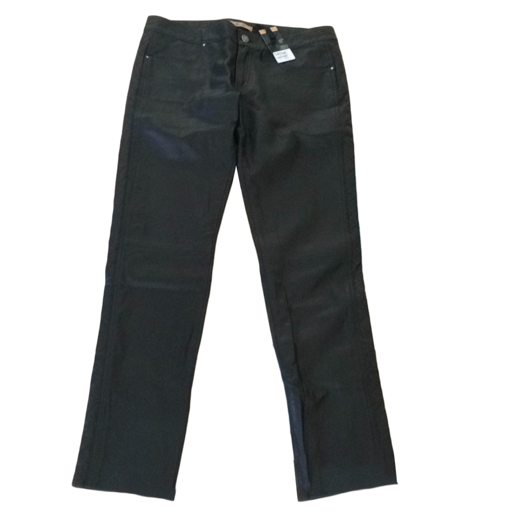Pantalon droit BEL AIR Noir