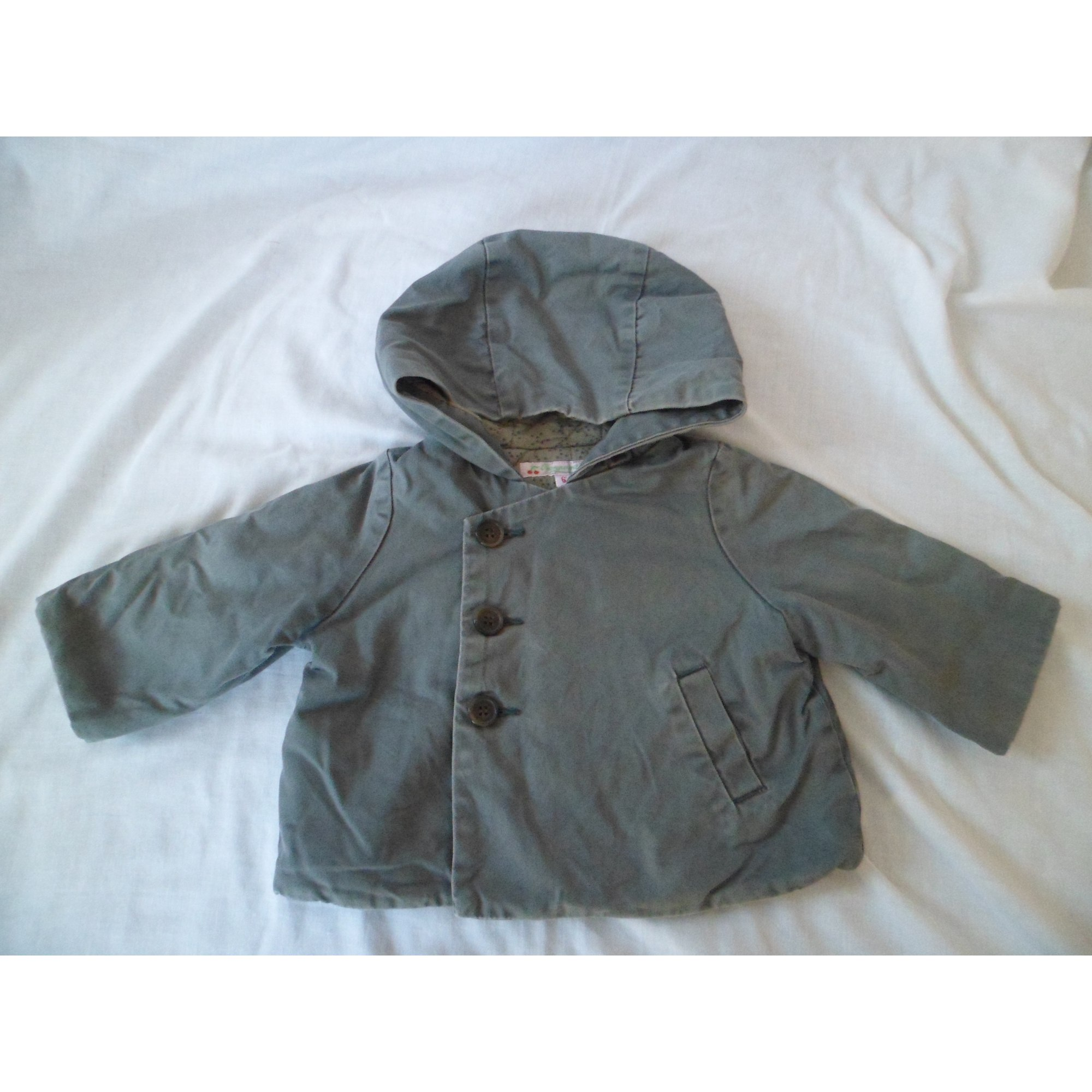 Manteau BONPOINT Gris, anthracite