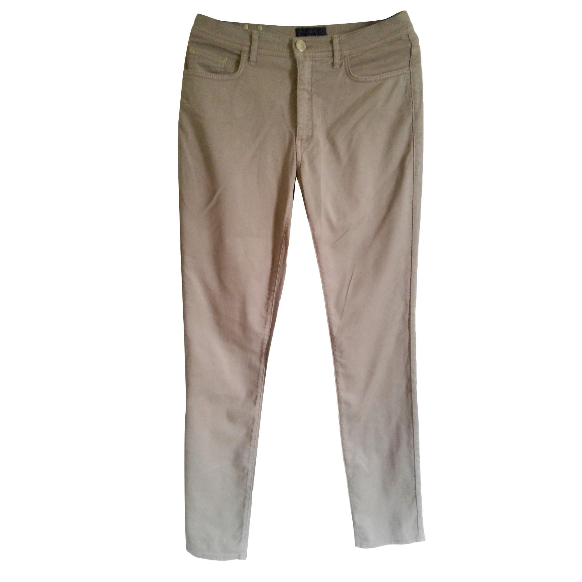 Pantalon droit TRU TRUSSARDI Beige, camel