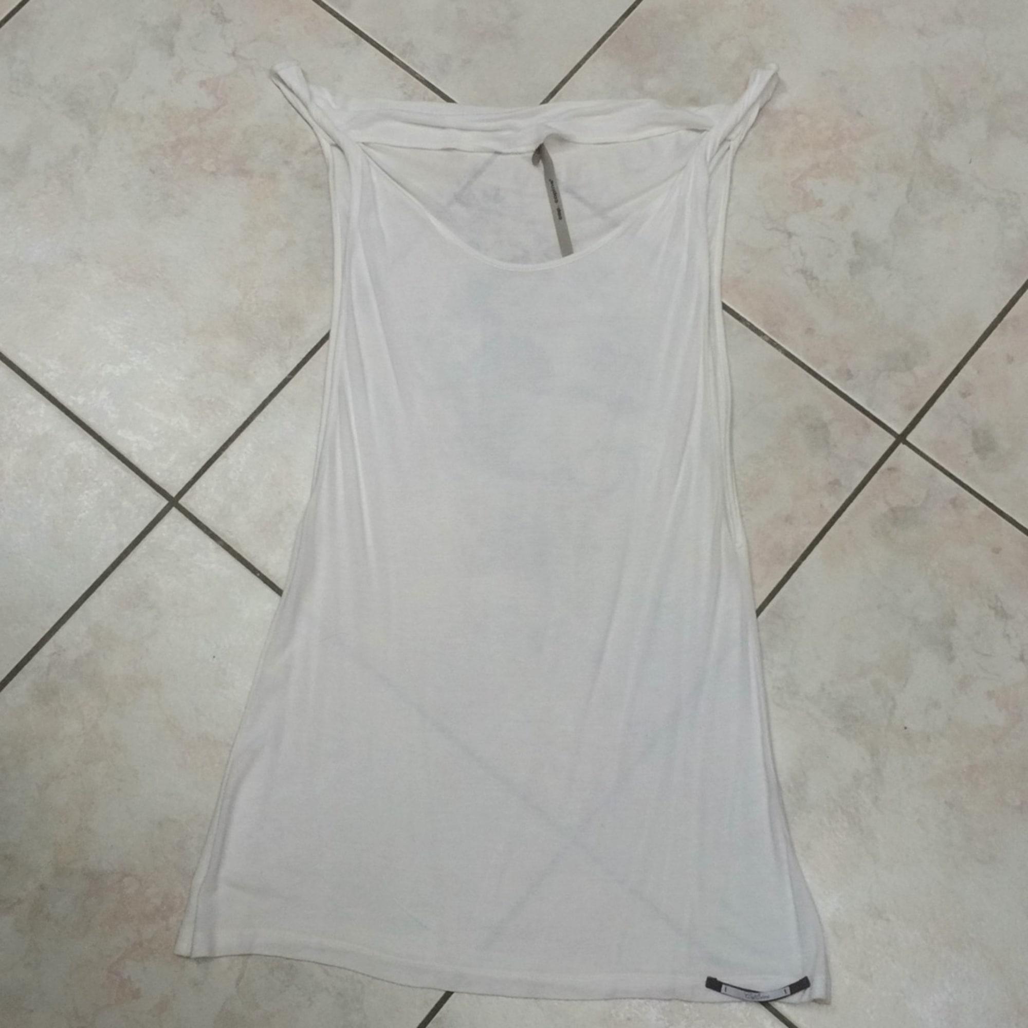 Tunique COP-COPINE Blanc, blanc cassé, écru
