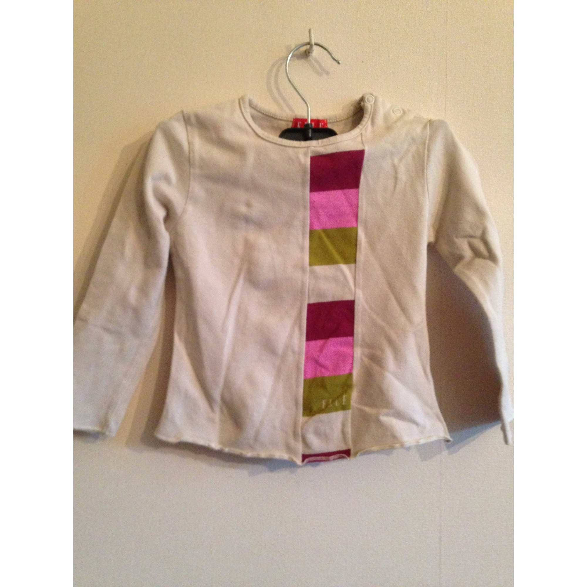 Top, Tee-shirt ELLE Beige, camel
