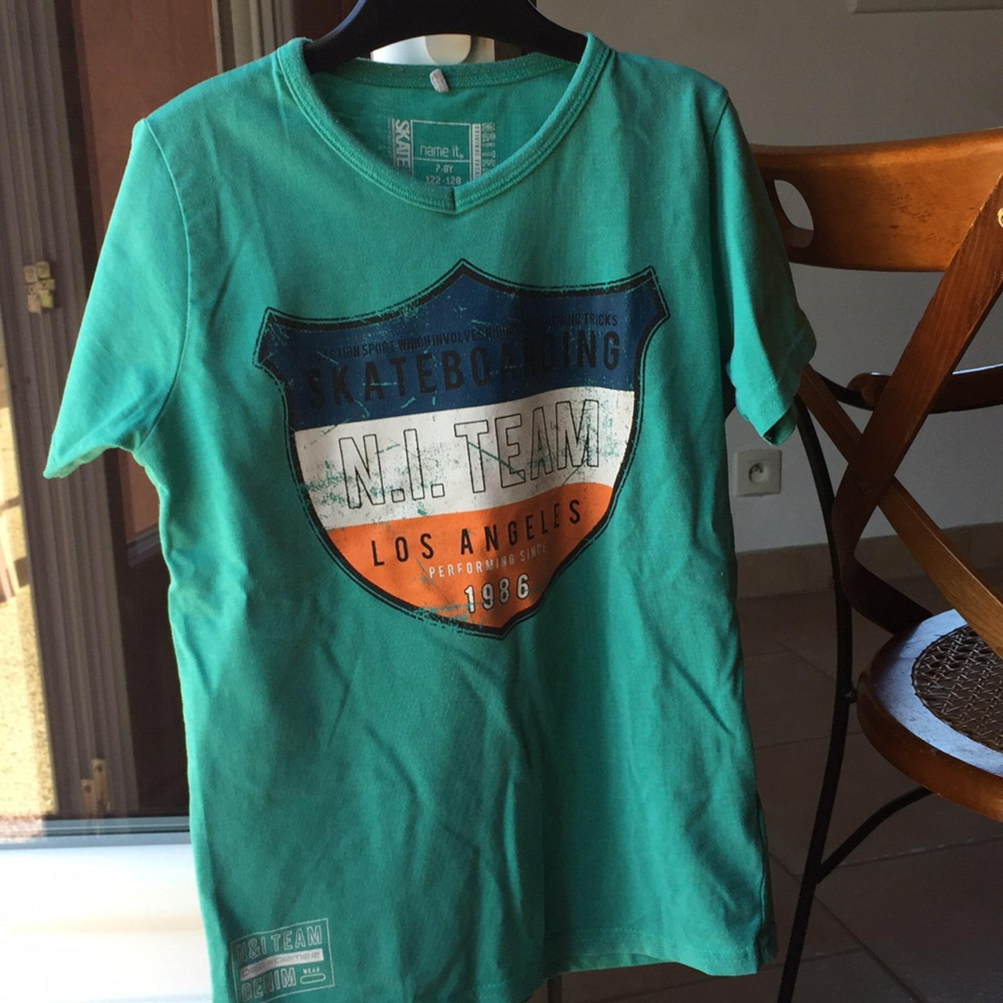 Tee-shirt NAME IT Vert