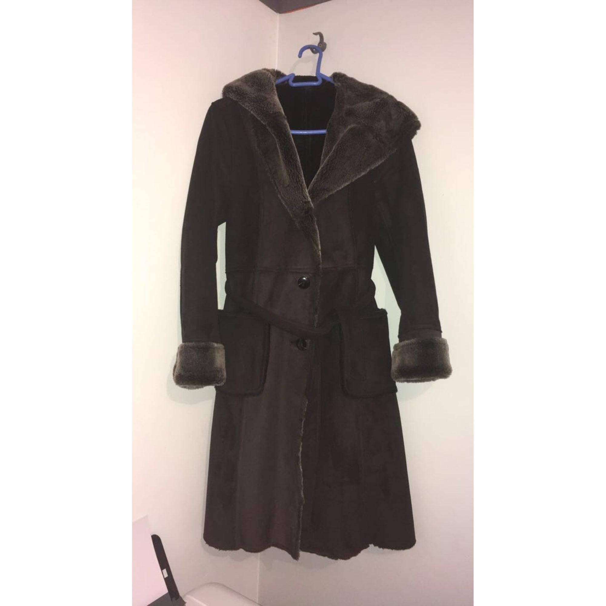 Manteau ANTONELLE 38 (M, T2) marron vendu par Chloe566513