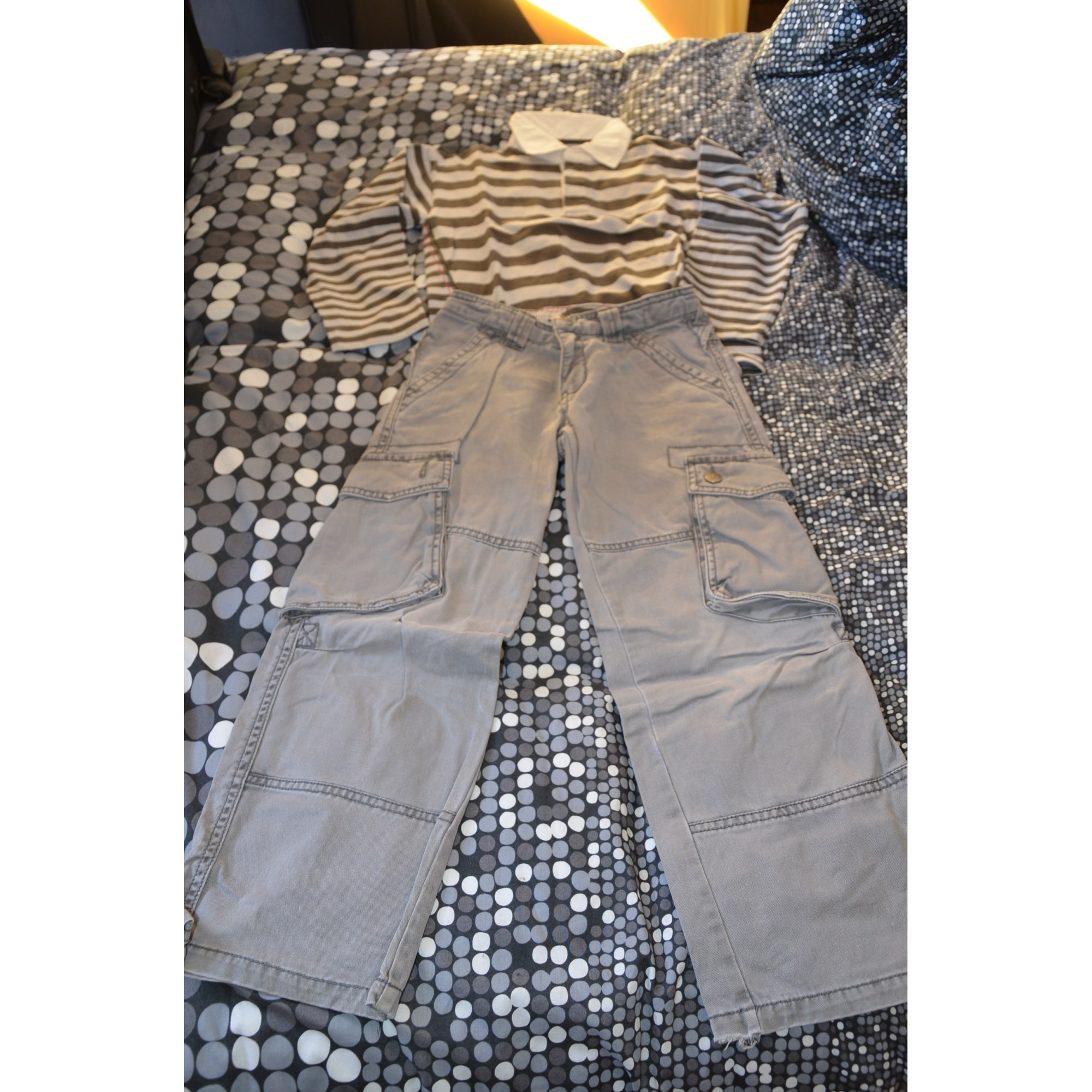 Pants Set, Outfit MEXX Gray, charcoal
