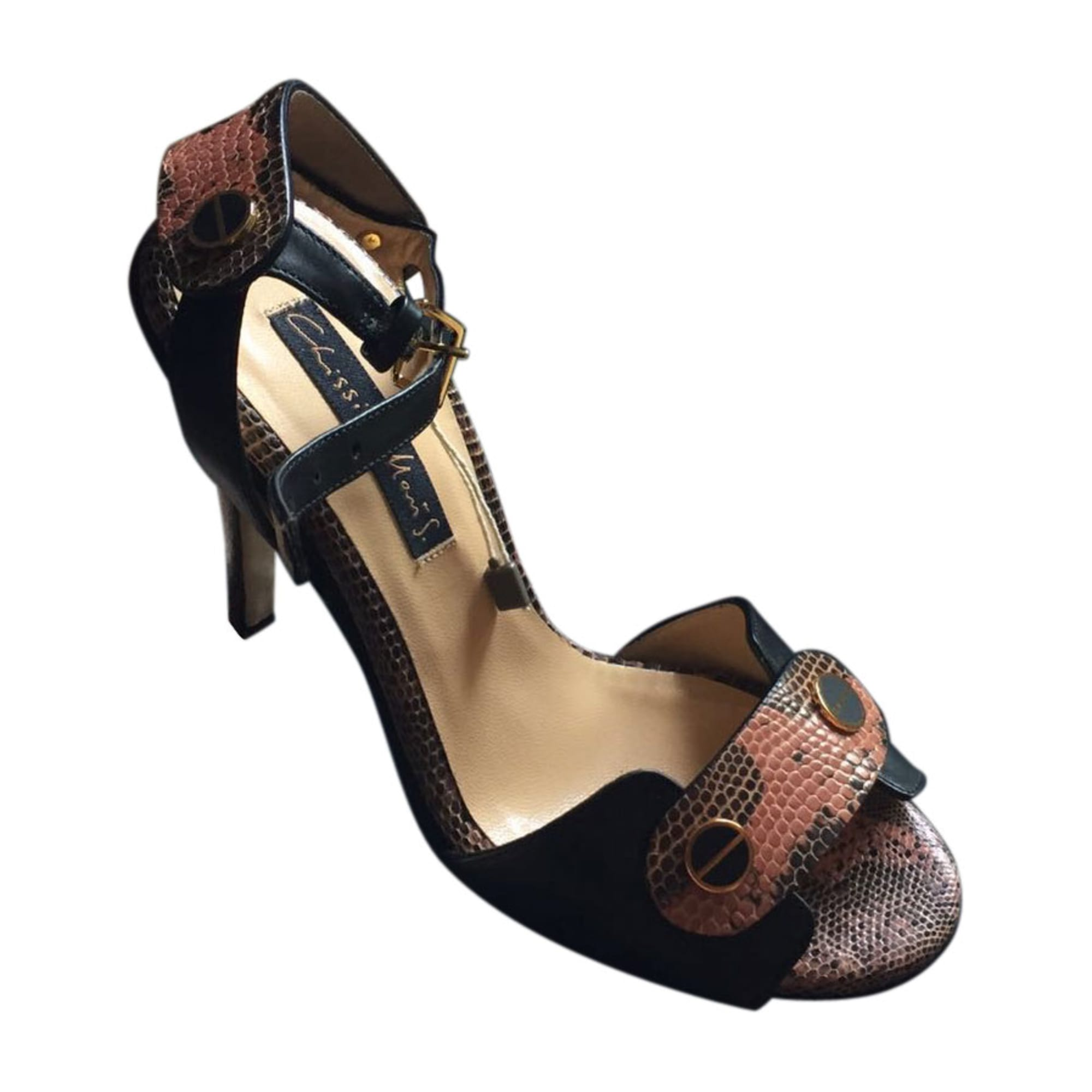 Sandales à talons CHRISSIE MORRIS Noir
