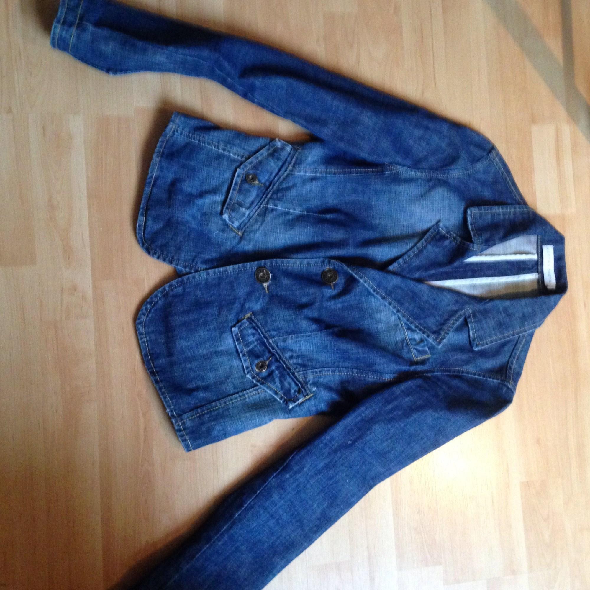 Veste en jean CACHE CACHE Bleu, bleu marine, bleu turquoise
