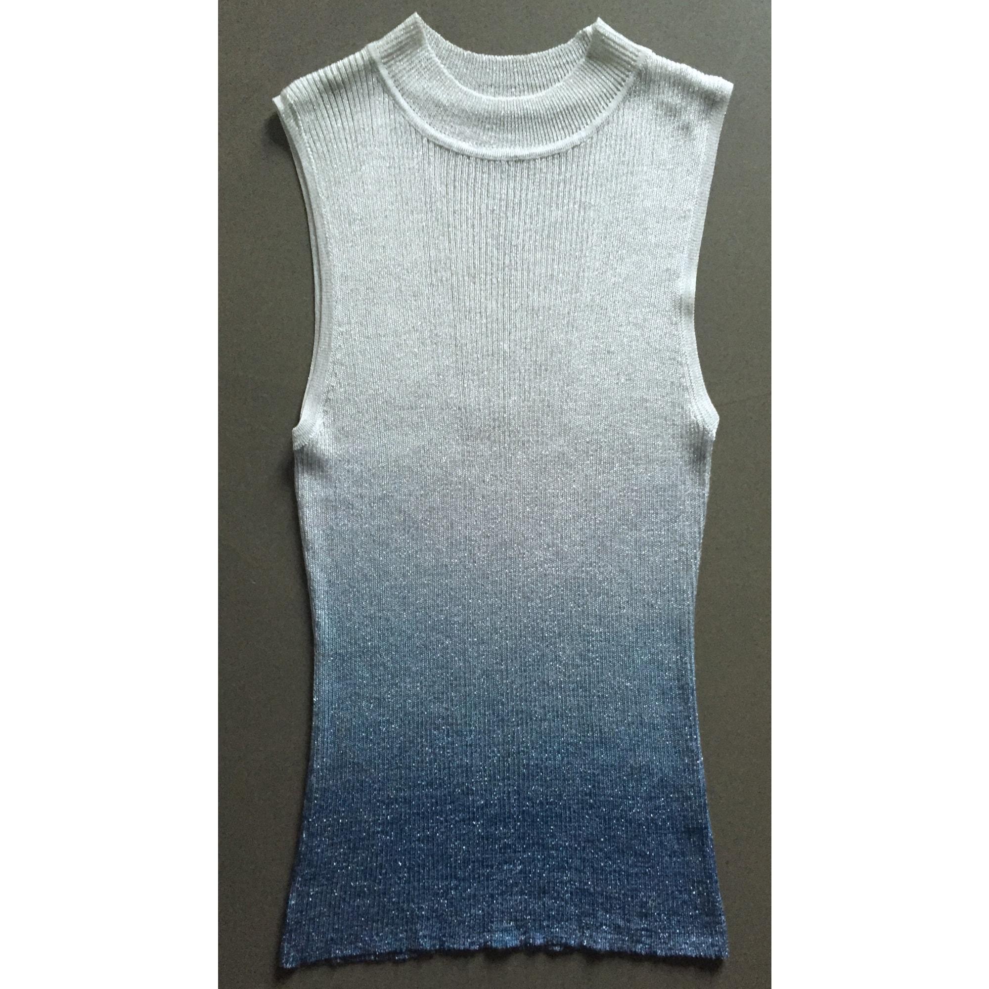 Pull LORENA ANTONIAZZI Bleu, bleu marine, bleu turquoise