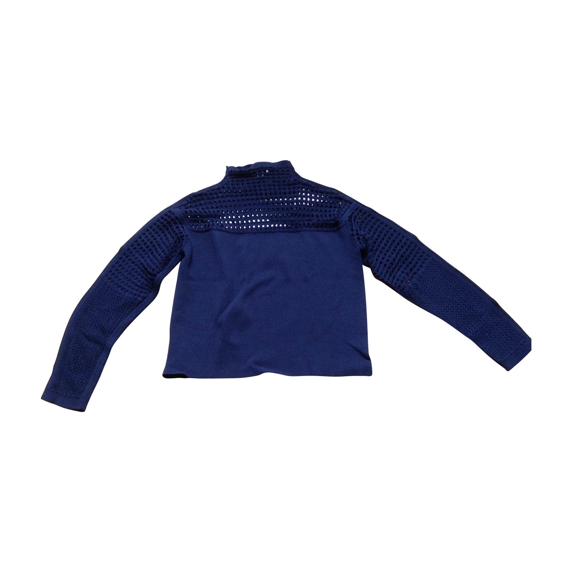 Pull HELMUT LANG Bleu, bleu marine, bleu turquoise