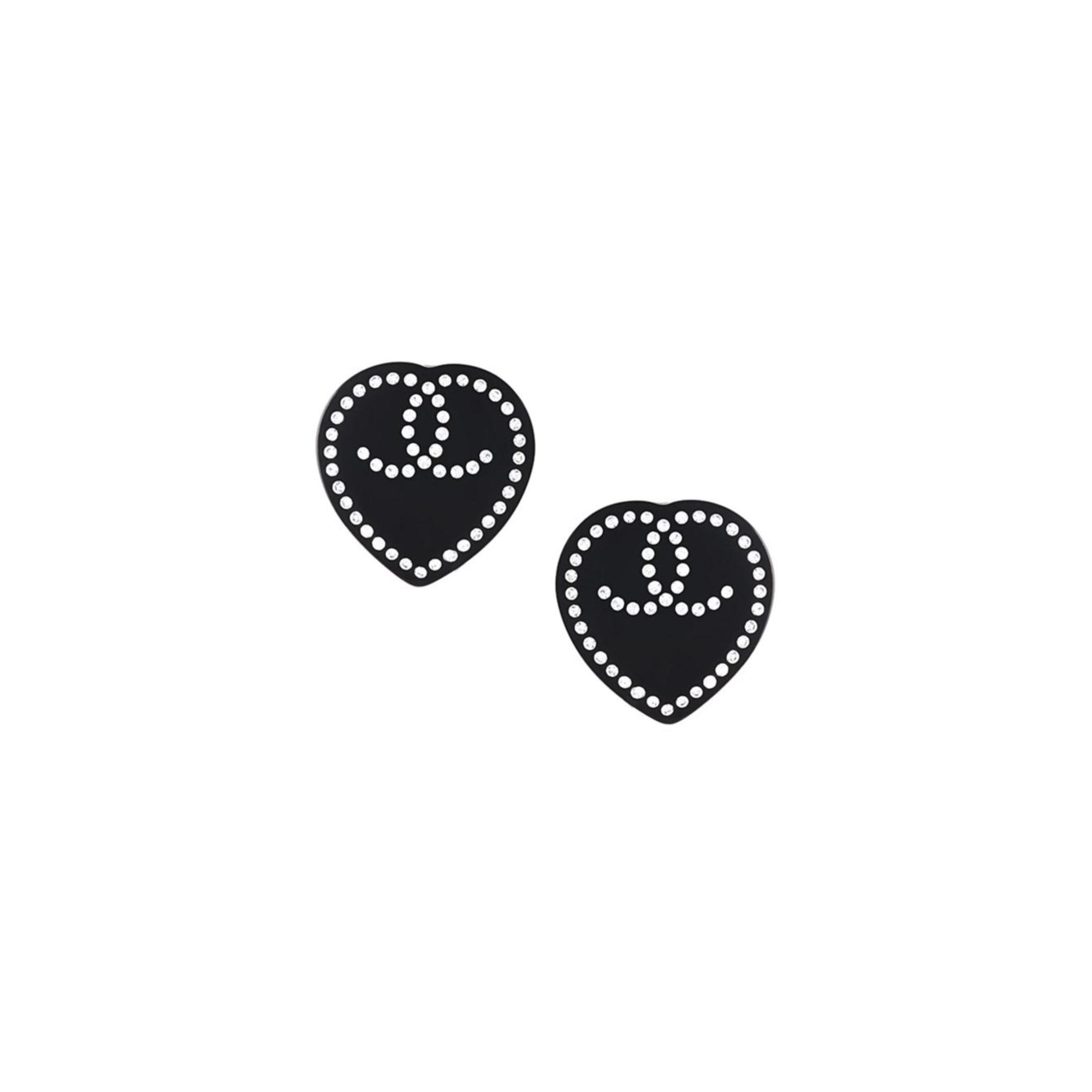 Boucles d'oreilles CHANEL Noir