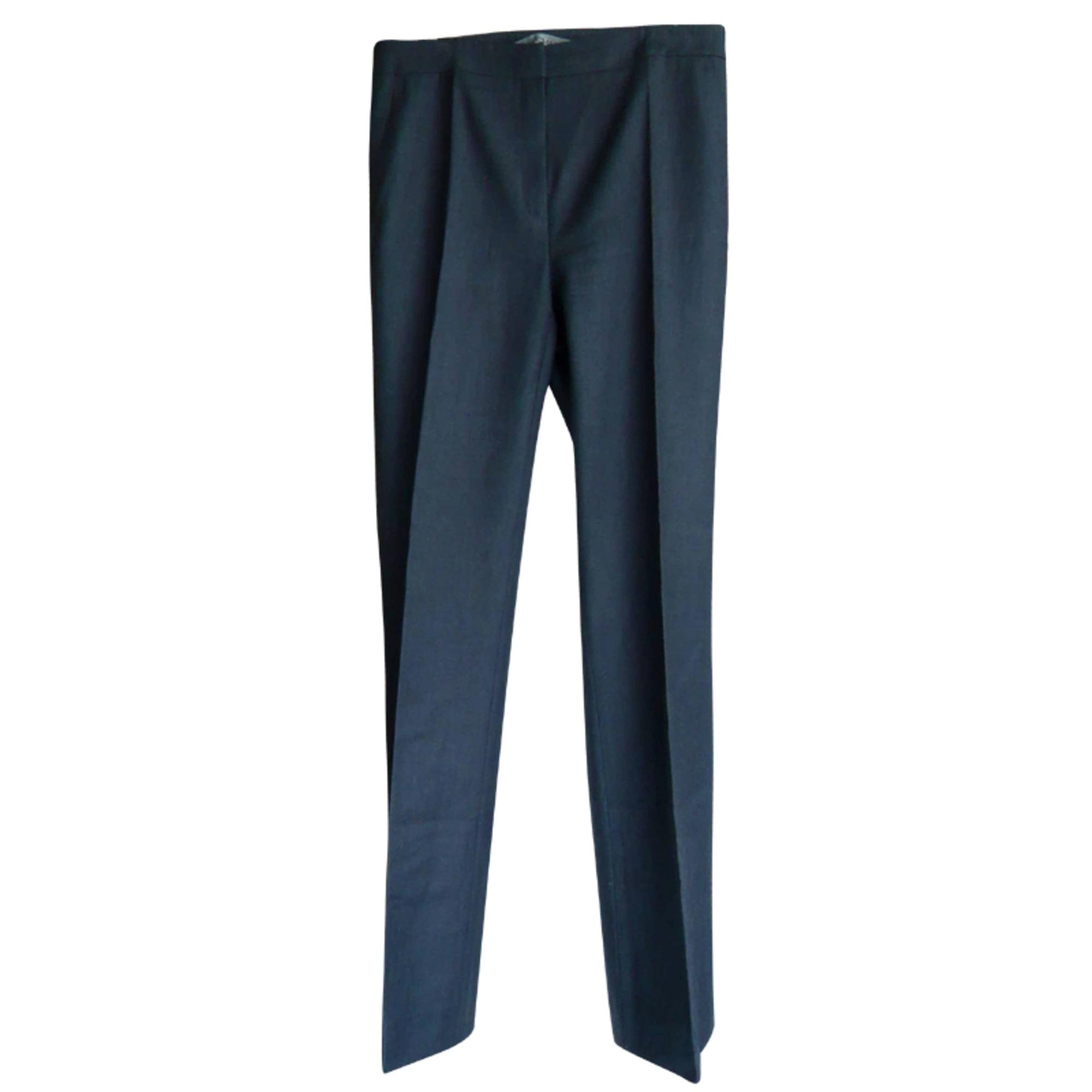 Pantalon droit SPORTMAX Gris, anthracite