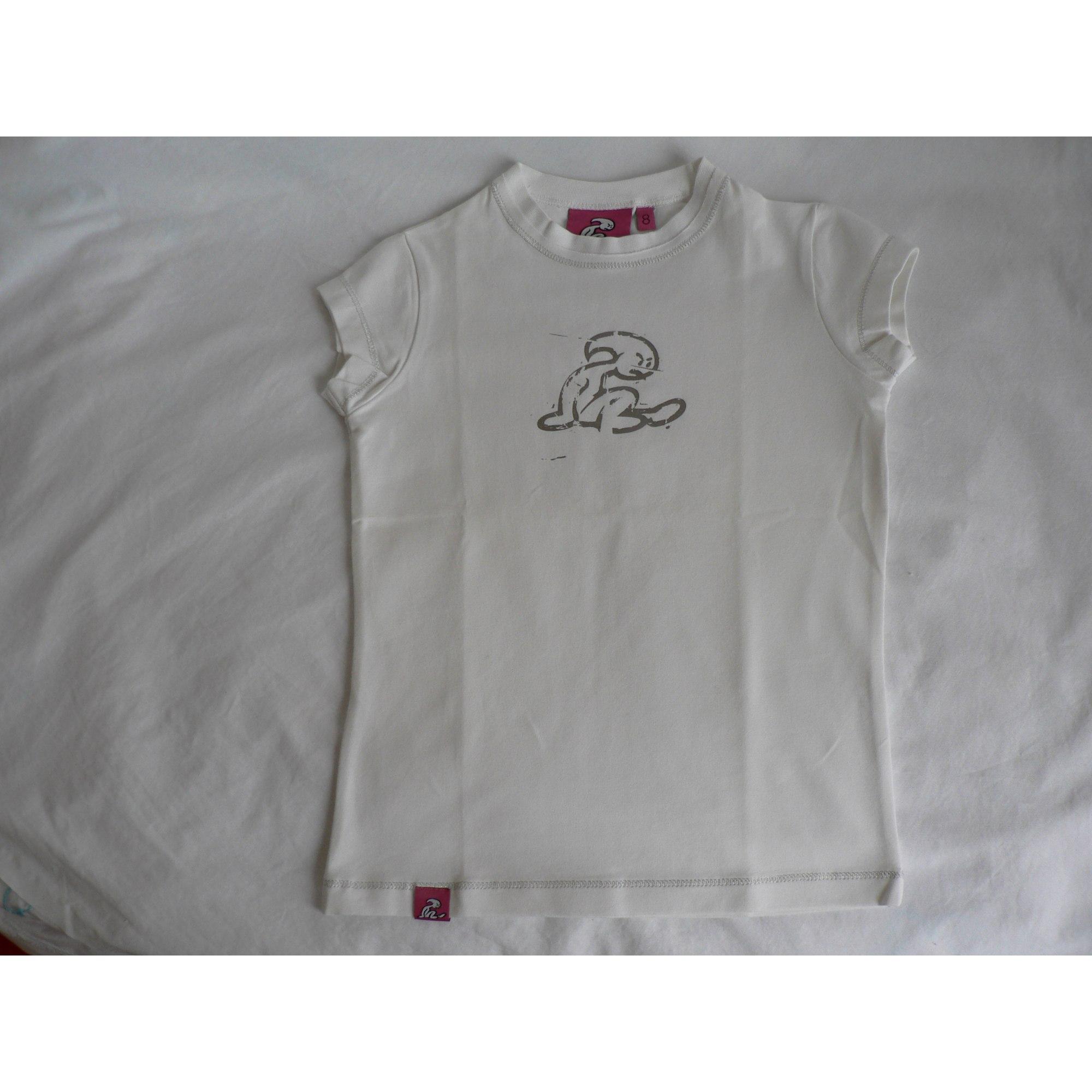 Top, Tee-shirt EL NIÑO Blanc, blanc cassé, écru