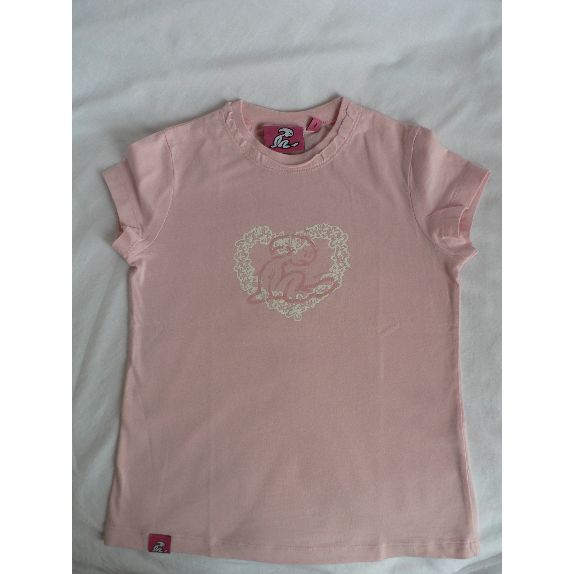 Top, Tee-shirt EL NIÑO Rose, fuschia, vieux rose
