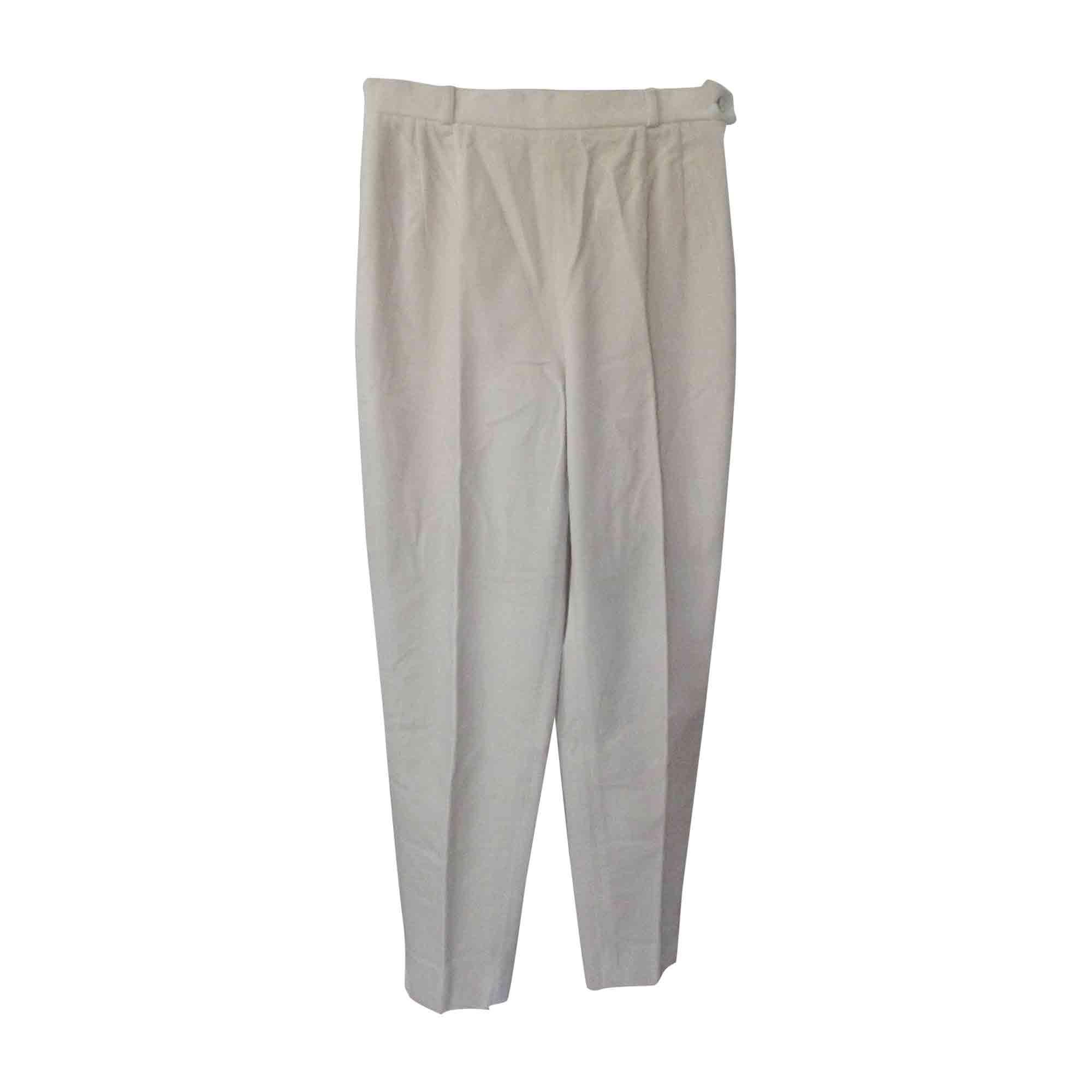 Pantalon droit KENZO Beige, camel
