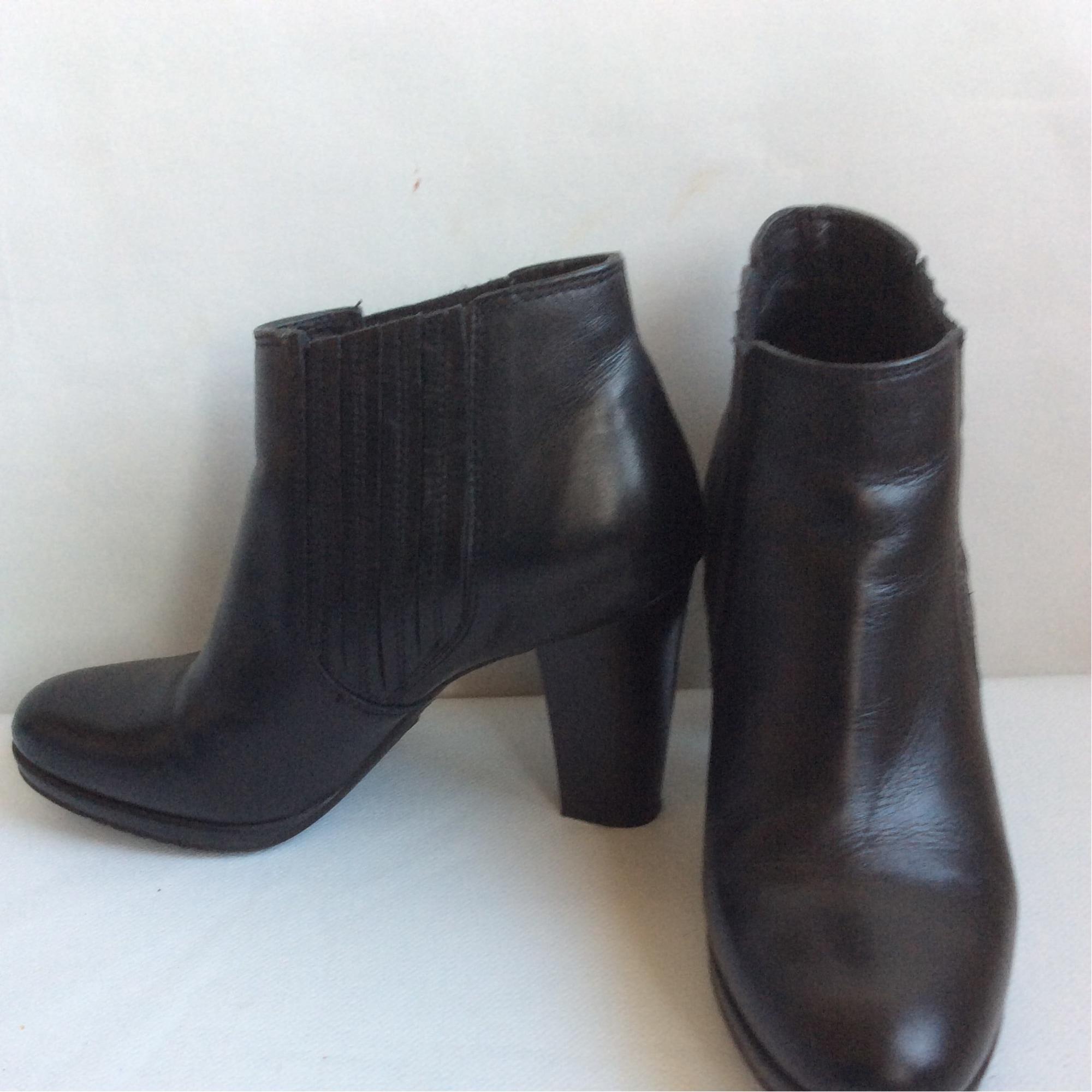 High Heel Ankle Boots COSMOPARIS Black