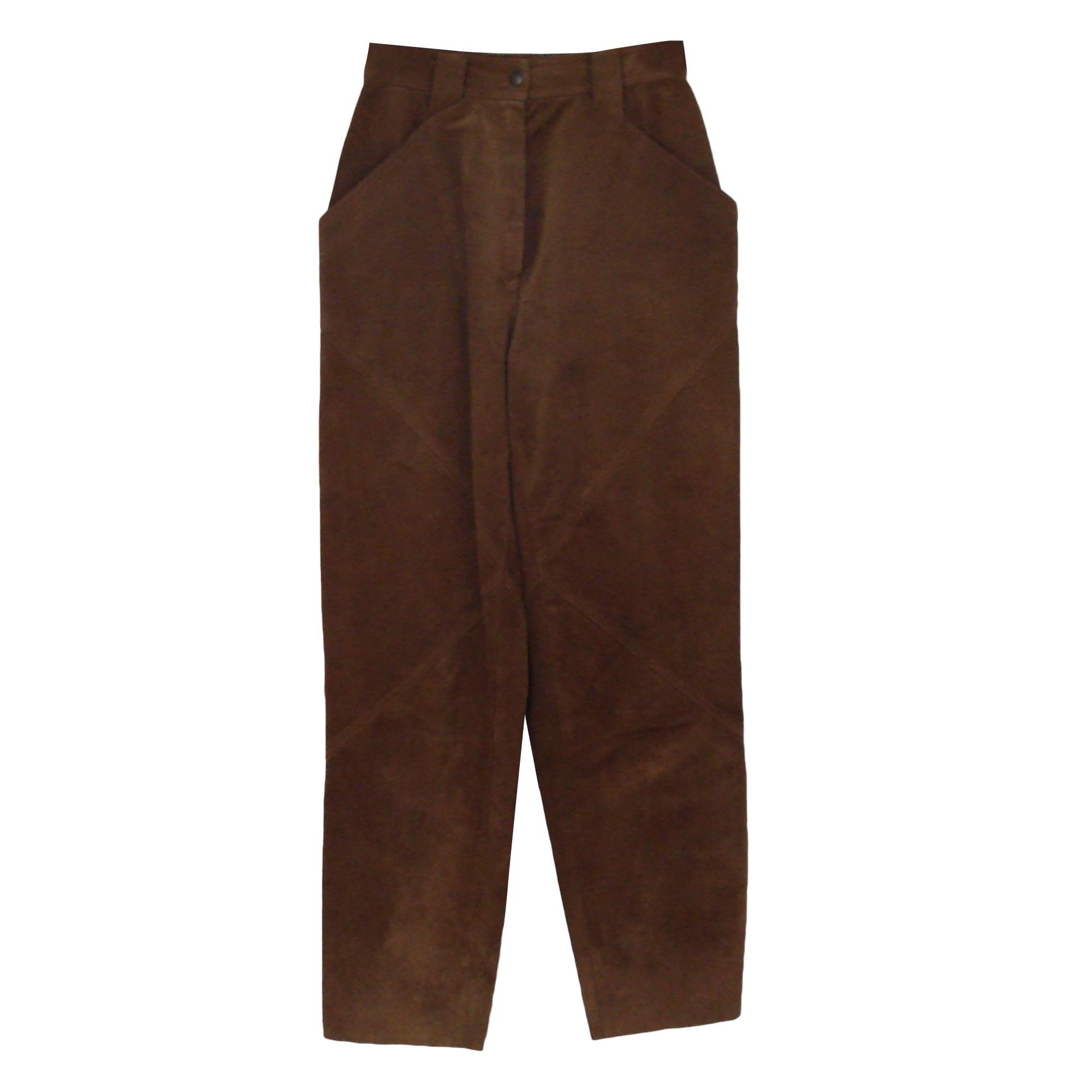 Pantalon carotte MAC DOUGLAS Beige, camel