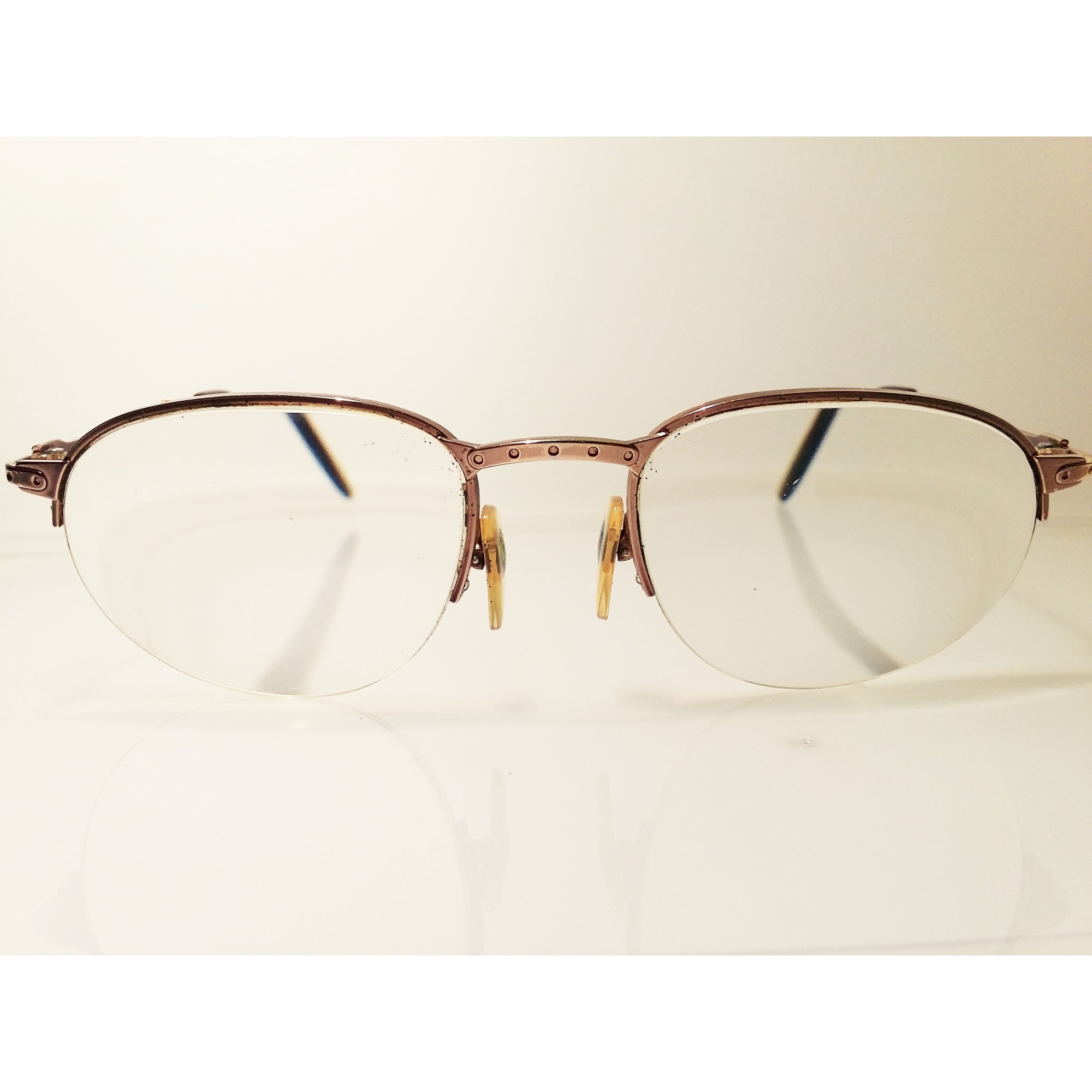 Eyeglass Frames LOUIS FÉRAUD Golden, bronze, copper