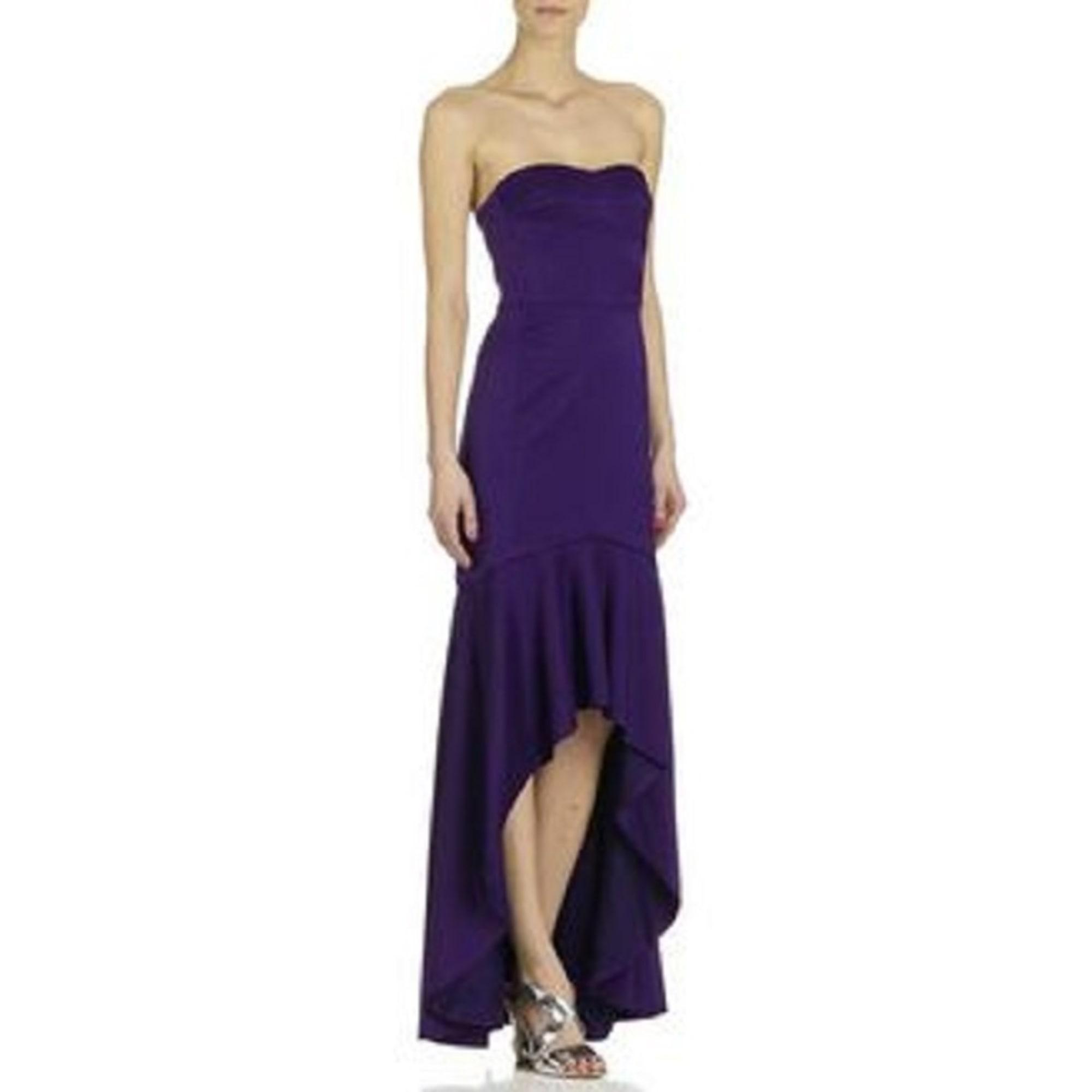 Robe longue ALAIN MANOUKIAN Violet, mauve, lavande