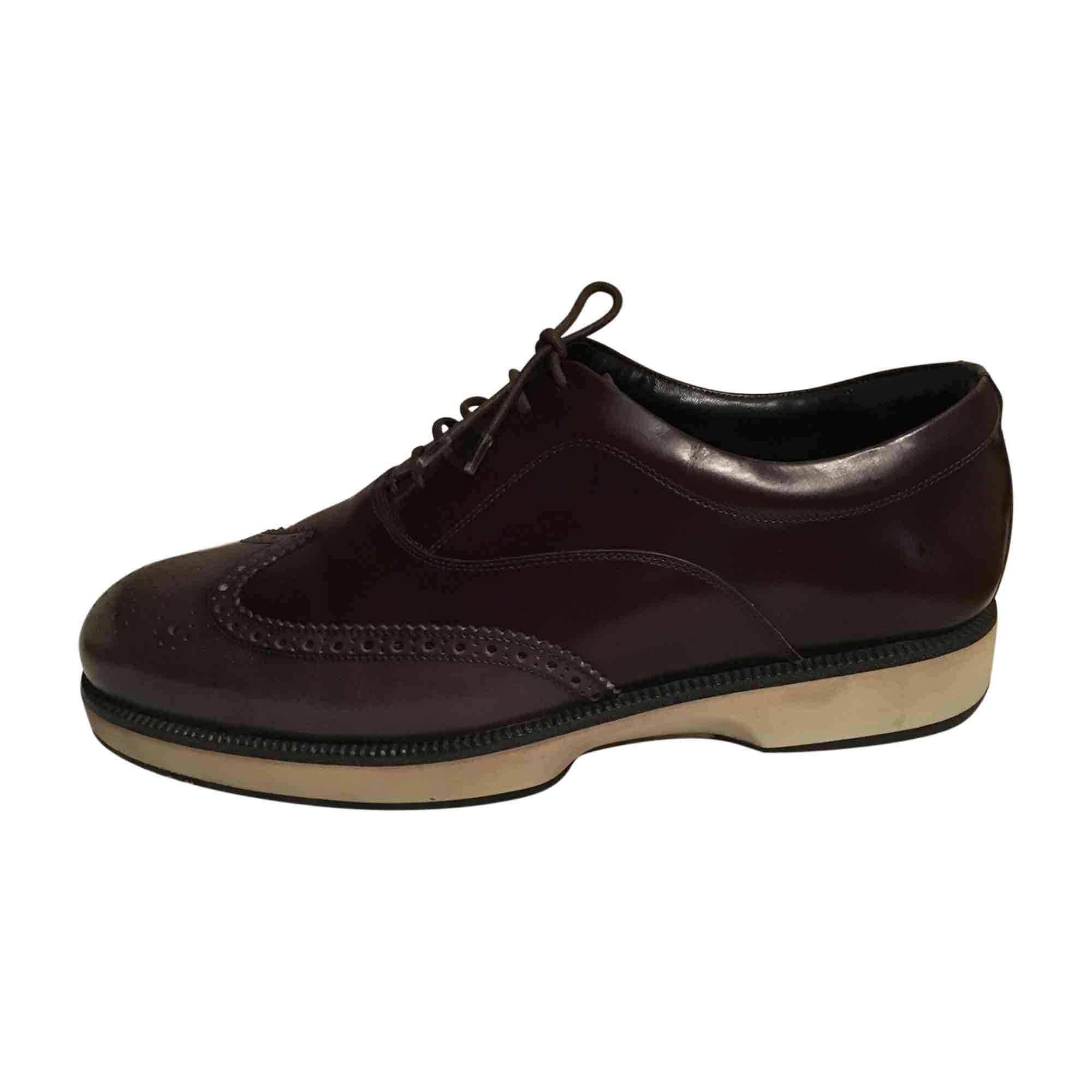 Chaussures à lacets SALVATORE FERRAGAMO Marron