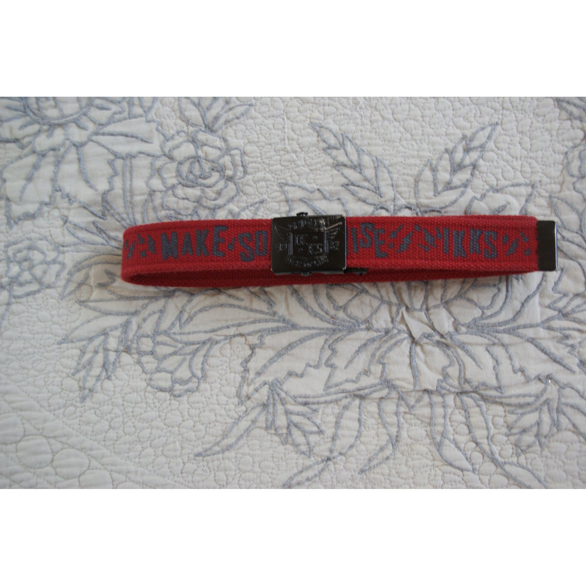 Belt IKKS Red, burgundy