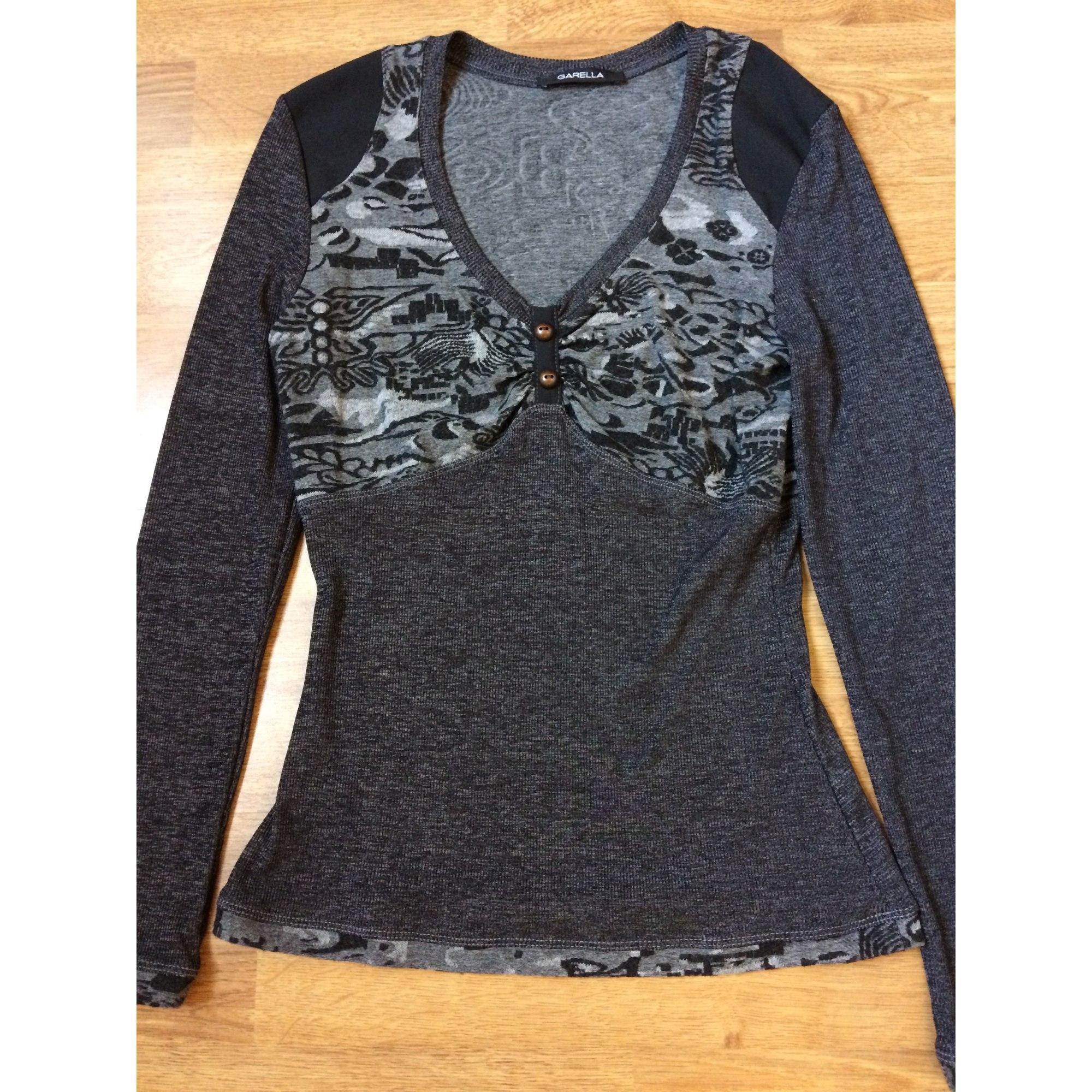 Top, tee-shirt GARELLA Gris, anthracite