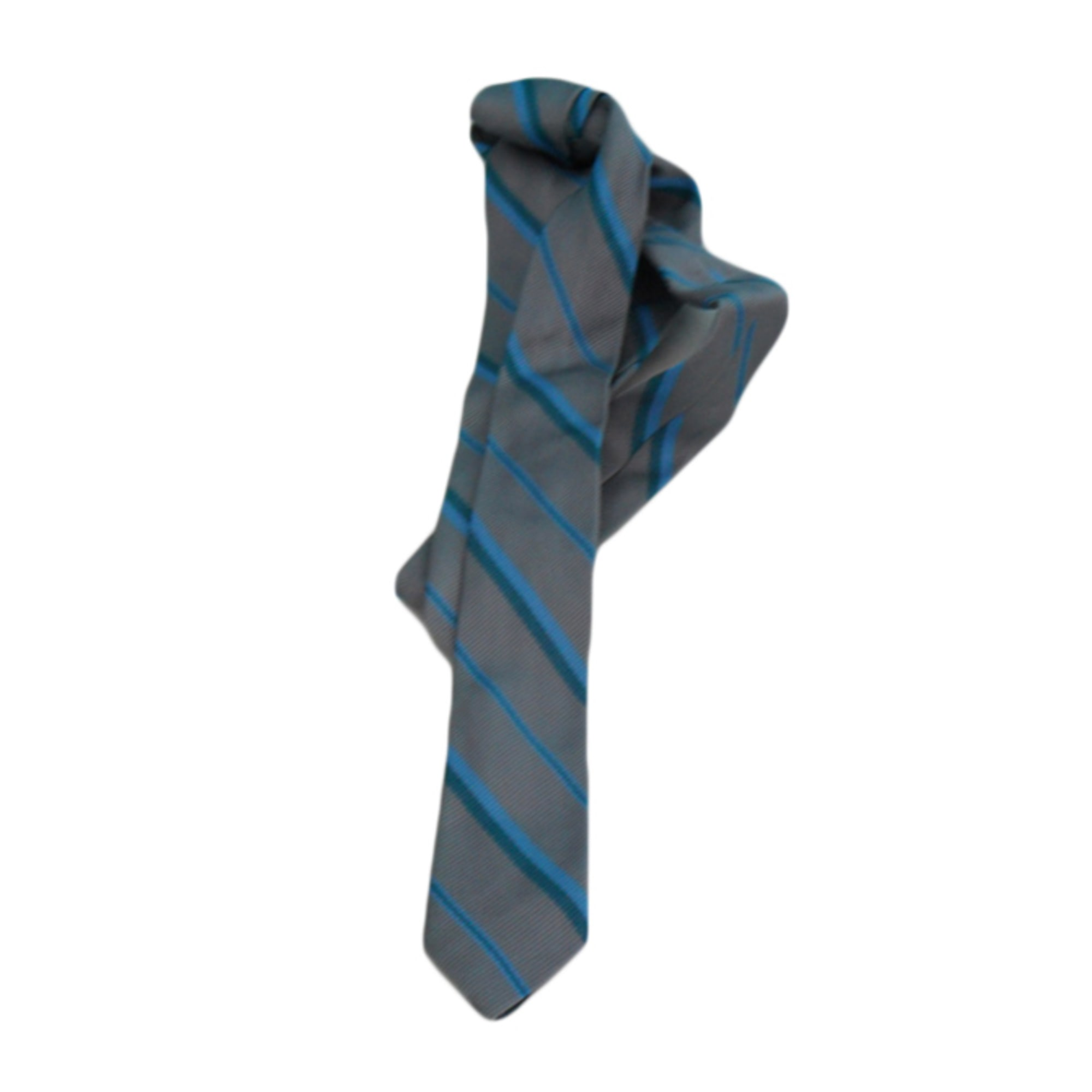 Tie MARQUE INCONNUE Gray, charcoal