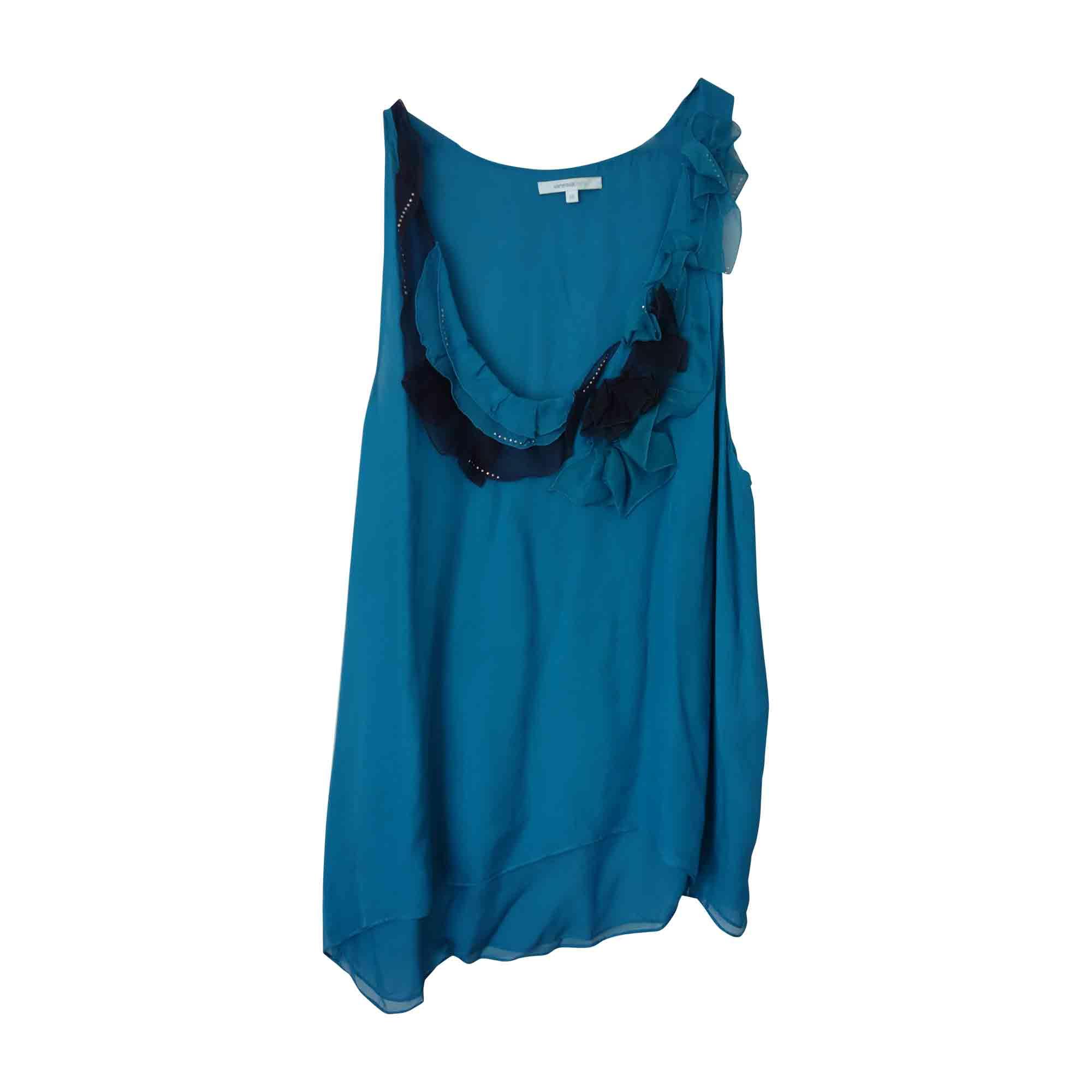 Débardeur VANESSA BRUNO Bleu, bleu marine, bleu turquoise
