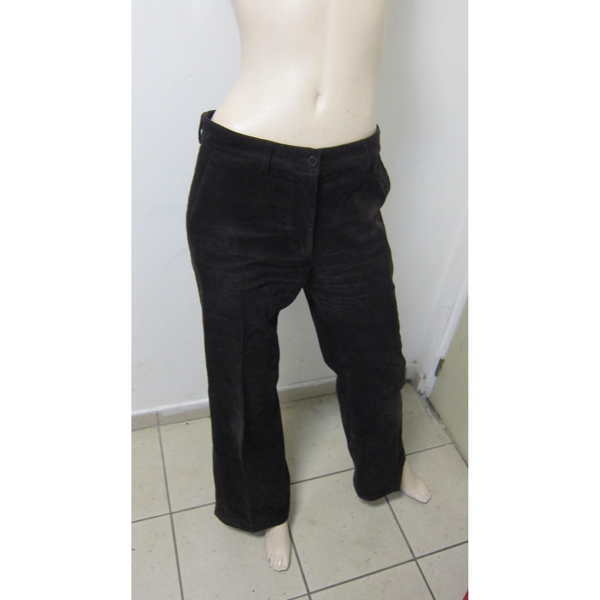 Pantalon évasé GERARD DAREL Marron