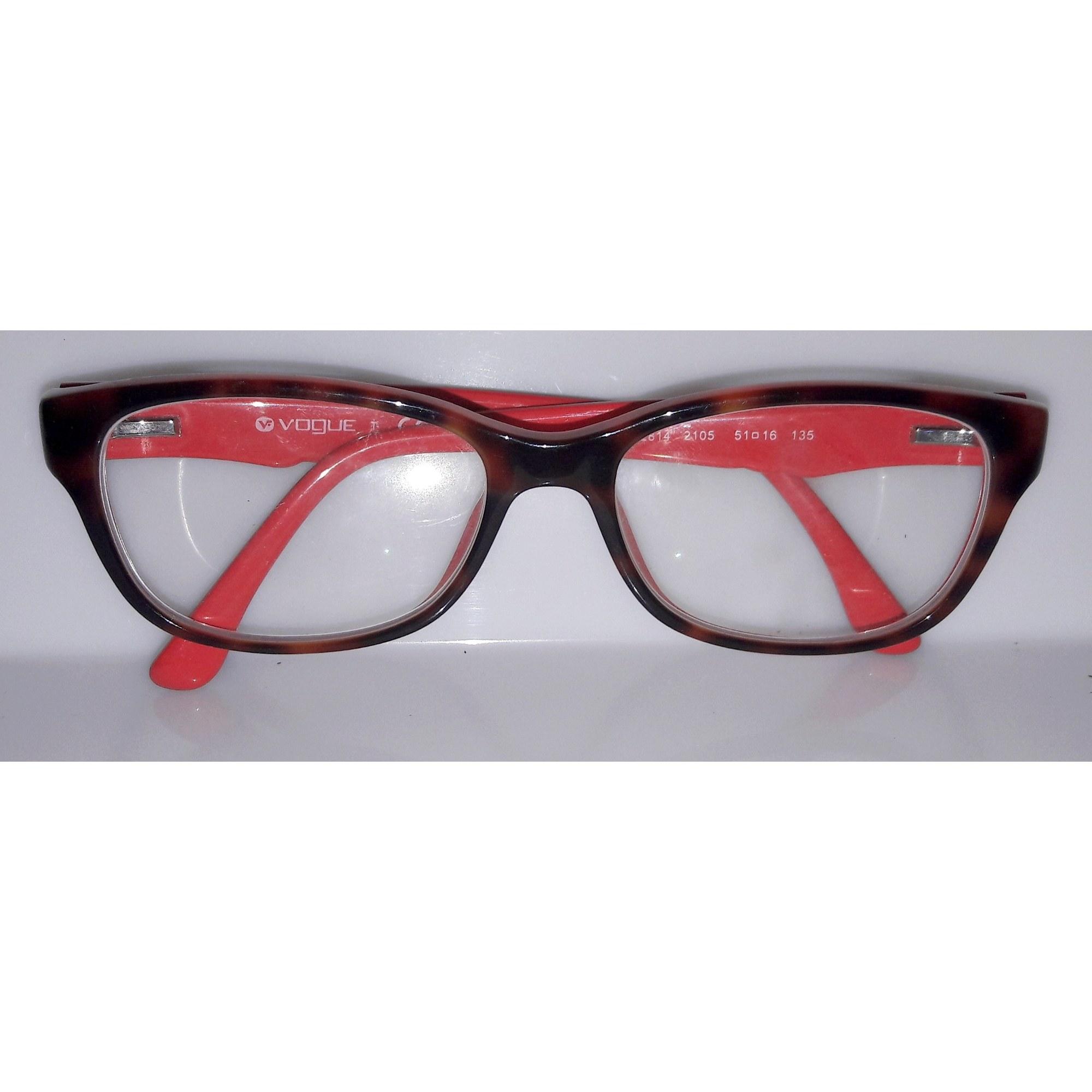 Monture de lunettes VOGUE écailles rouge