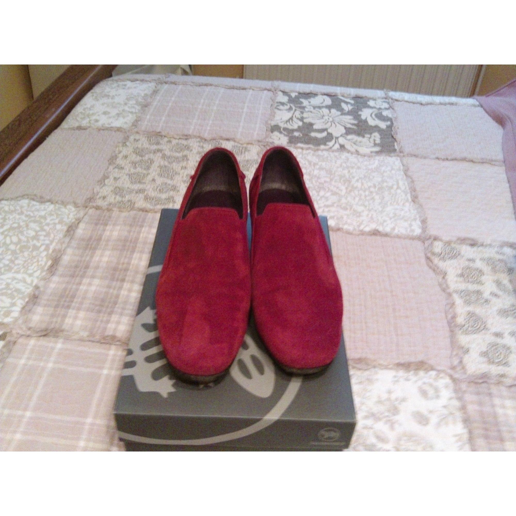 Bottines & low boots plates SALAMANDER Rouge, bordeaux