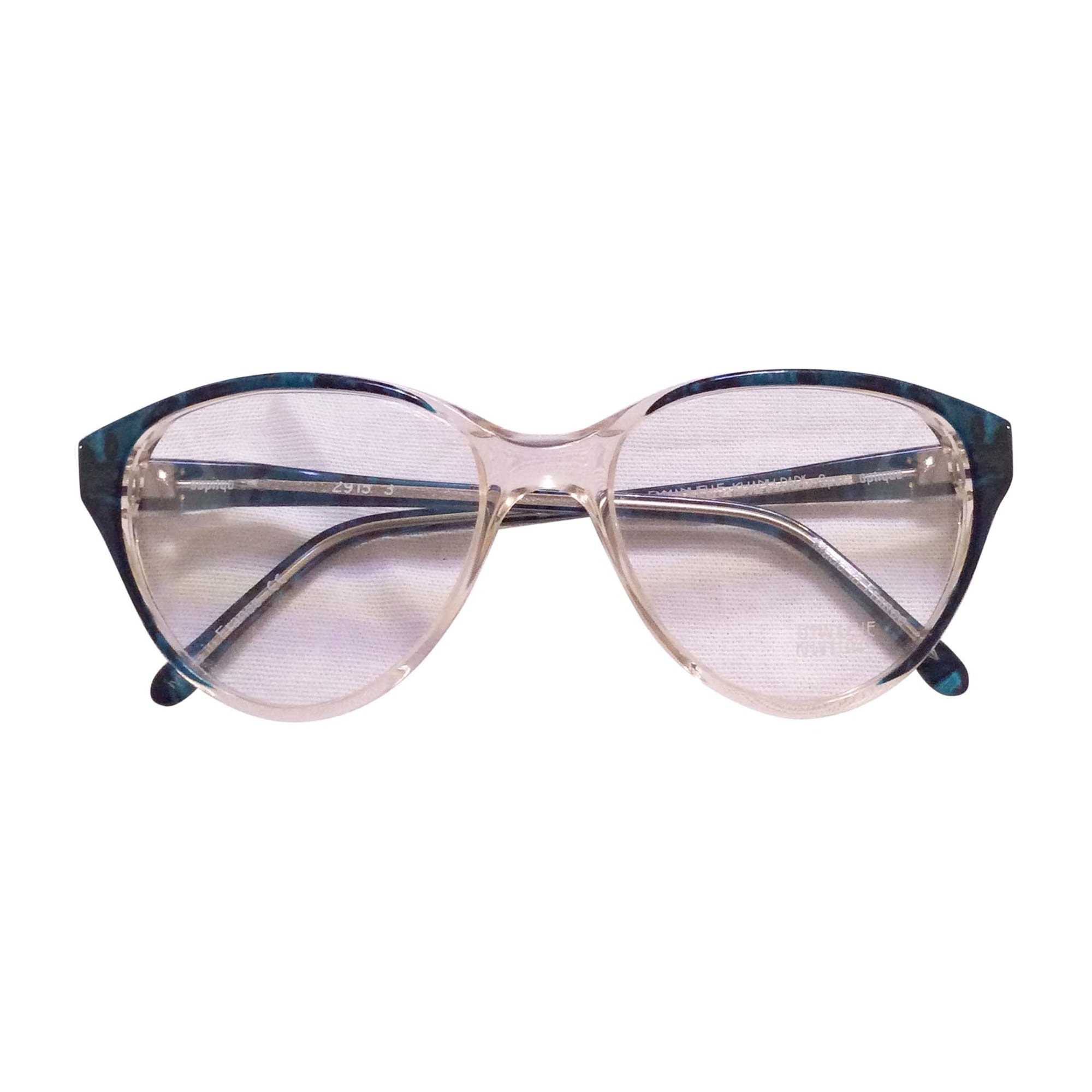 Eyeglass Frames EMMANUELLE KHANH Green