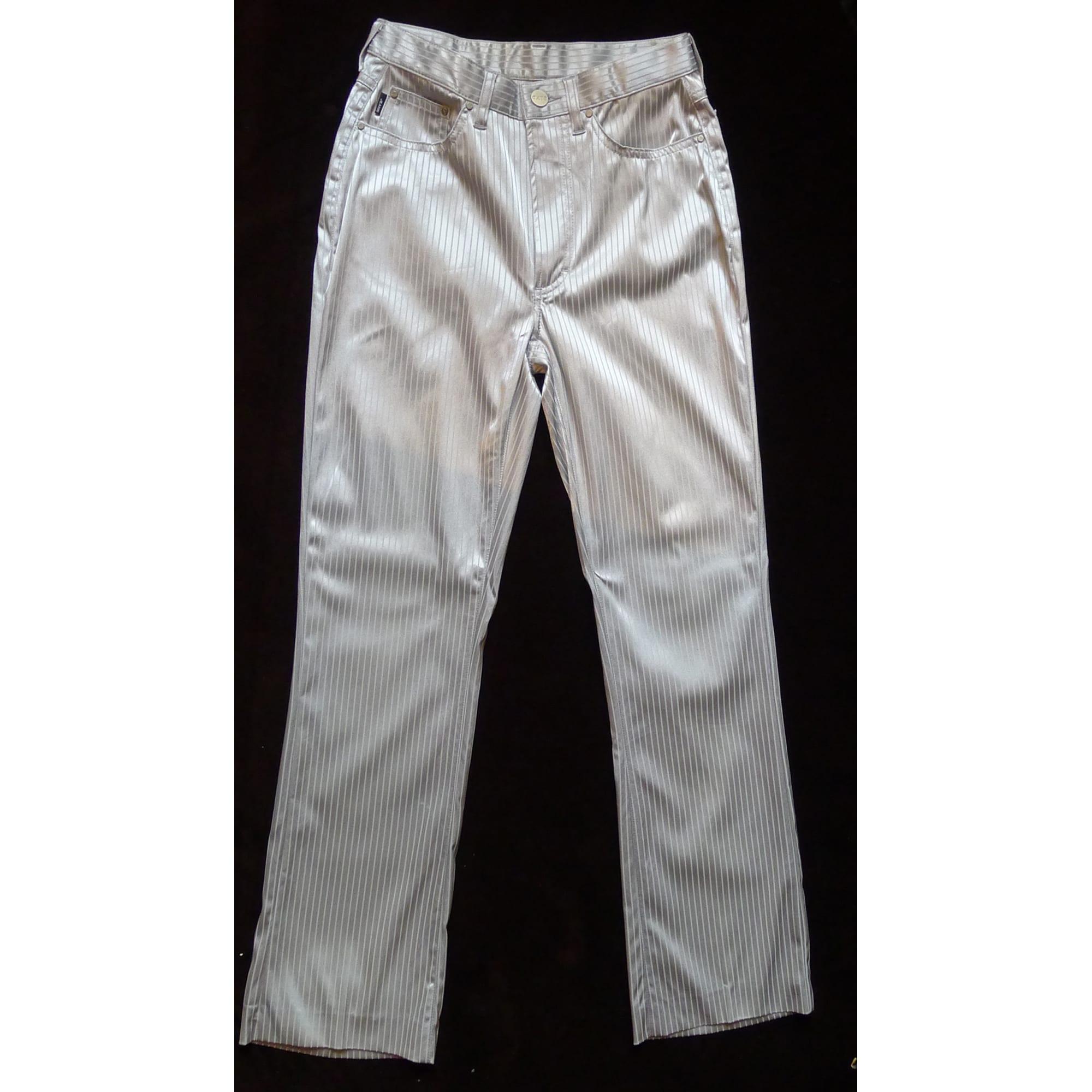 Jeans droit EXTE Gris, anthracite