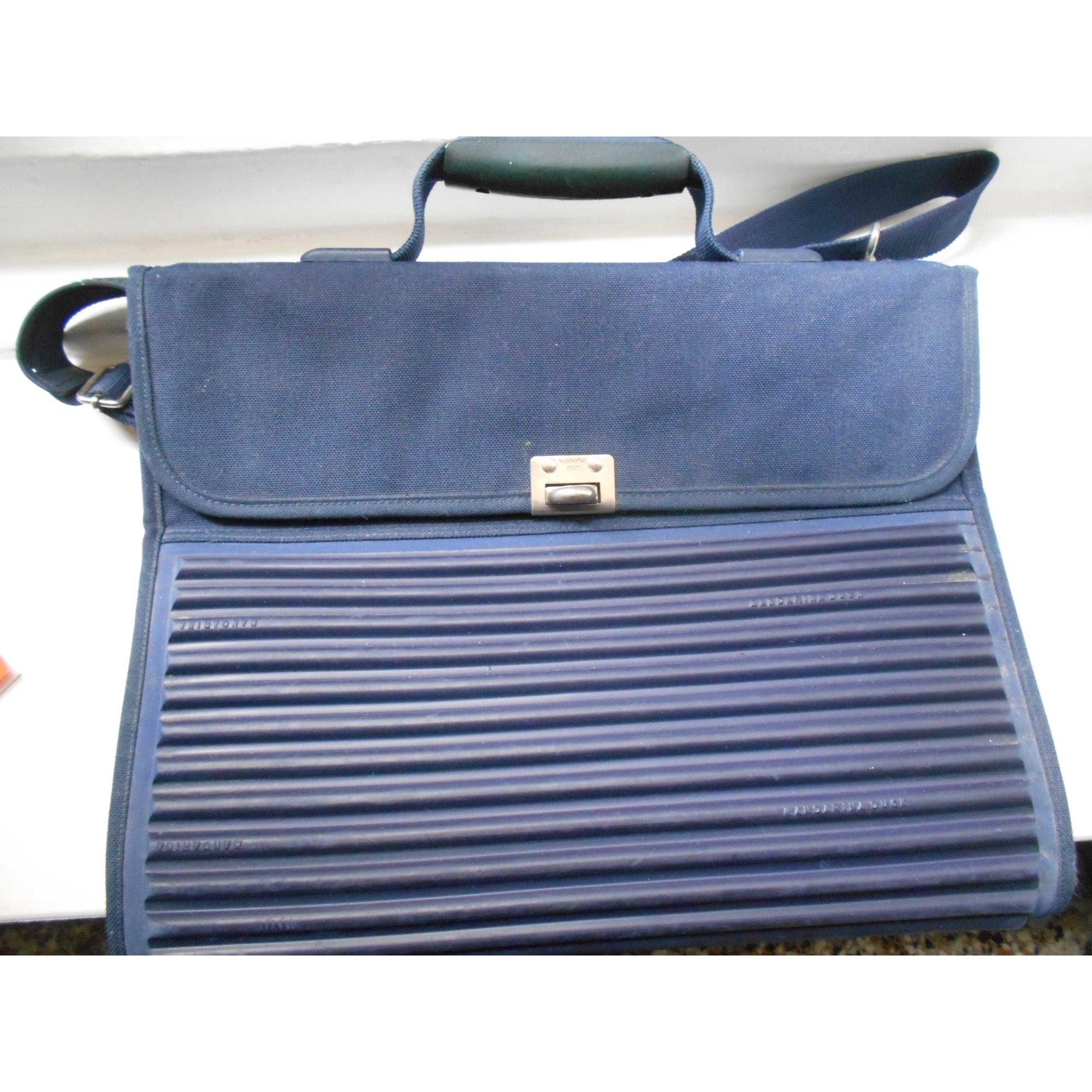 Cabas MANDARINA DUCK Bleu, bleu marine, bleu turquoise