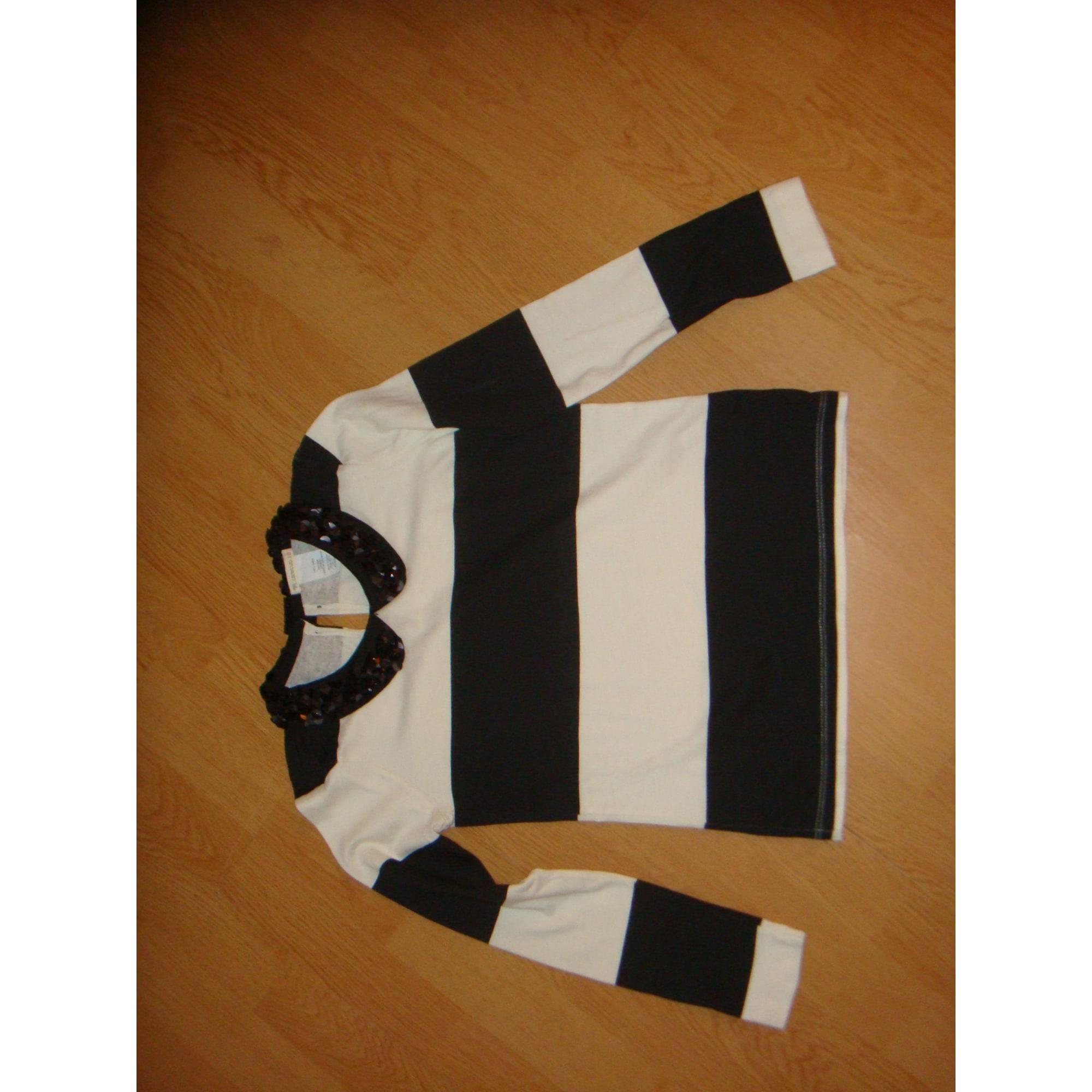 Top, Tee-shirt J.CREW Blanc, blanc cassé, écru