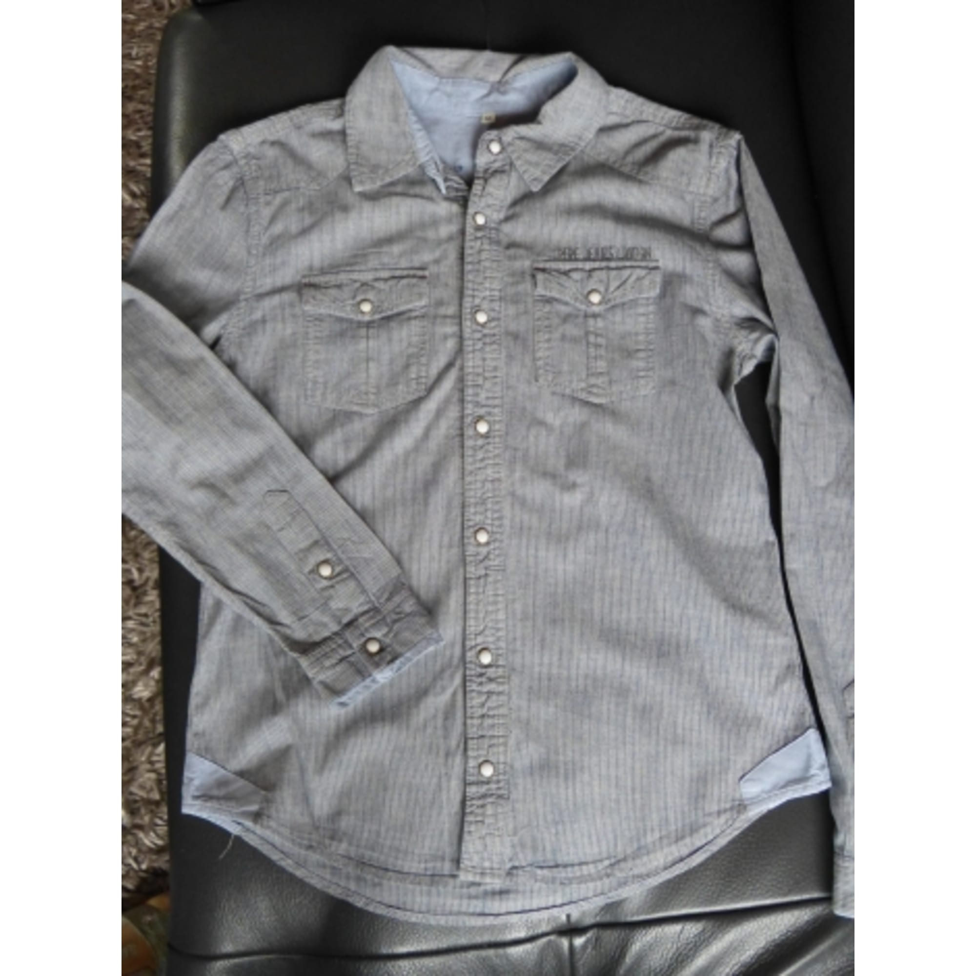 Chemise PEPE JEANS Gris, anthracite