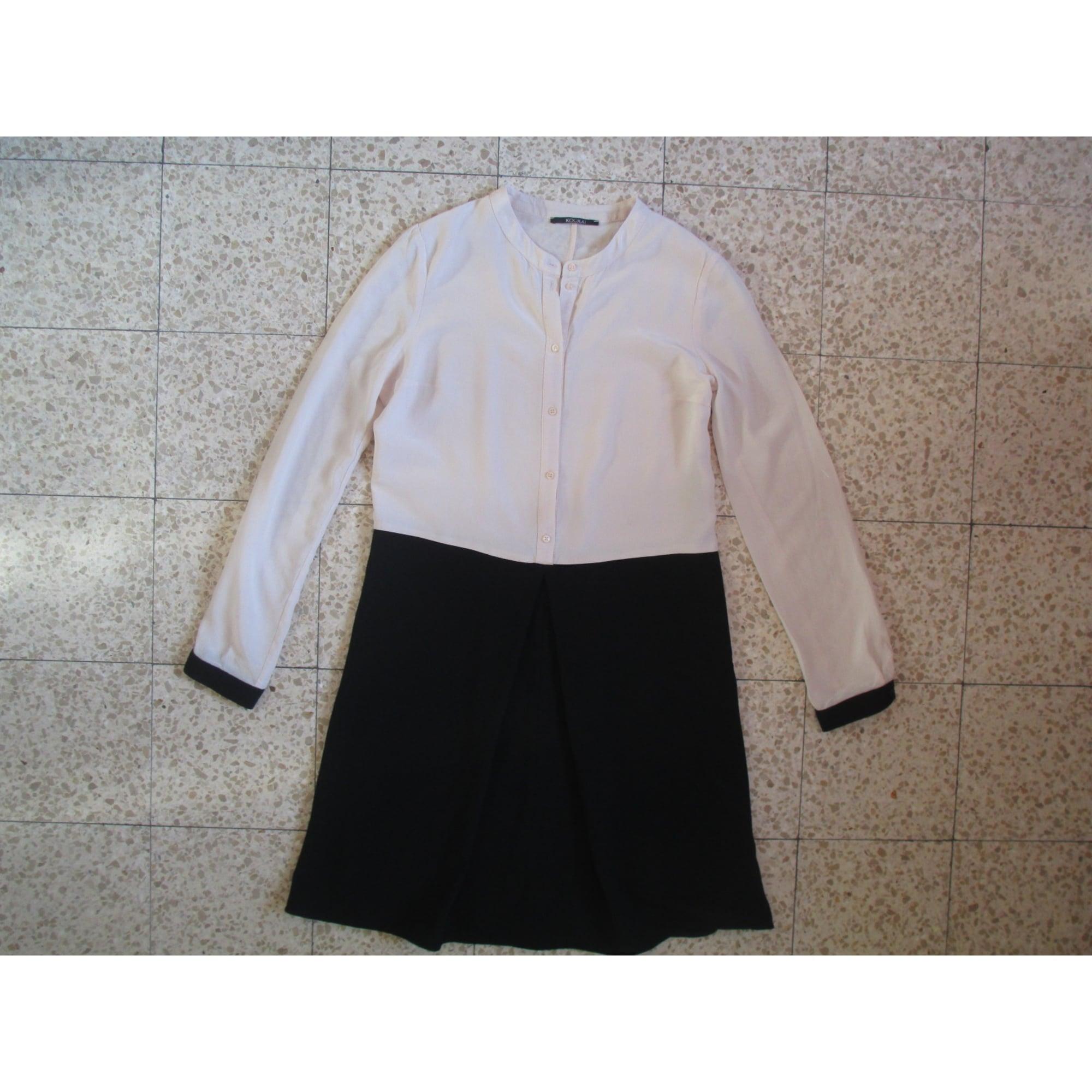 Robe courte KOOKAI Blanc, blanc cassé, écru