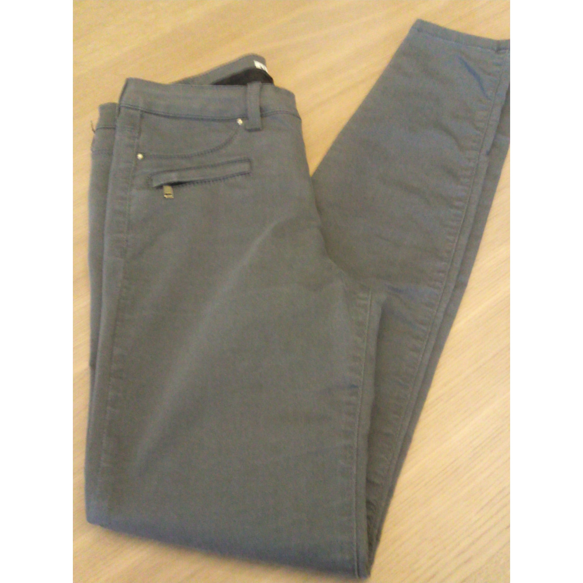 Jeans slim SUD EXPRESS Gris, anthracite