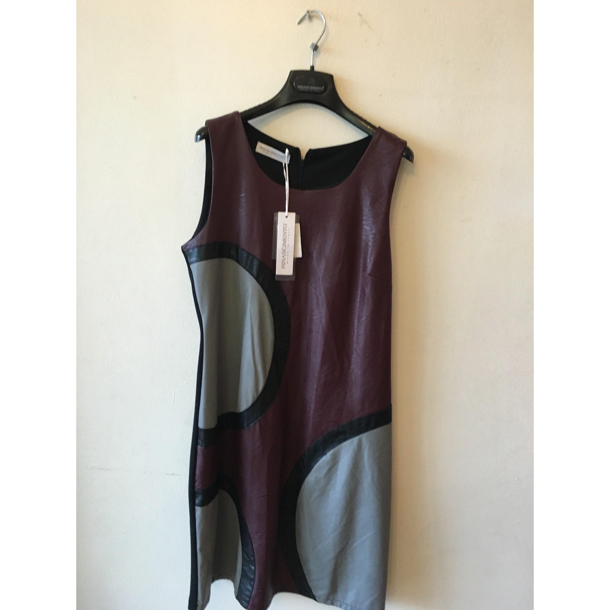Robe courte RINASCIMENTO Multicouleur