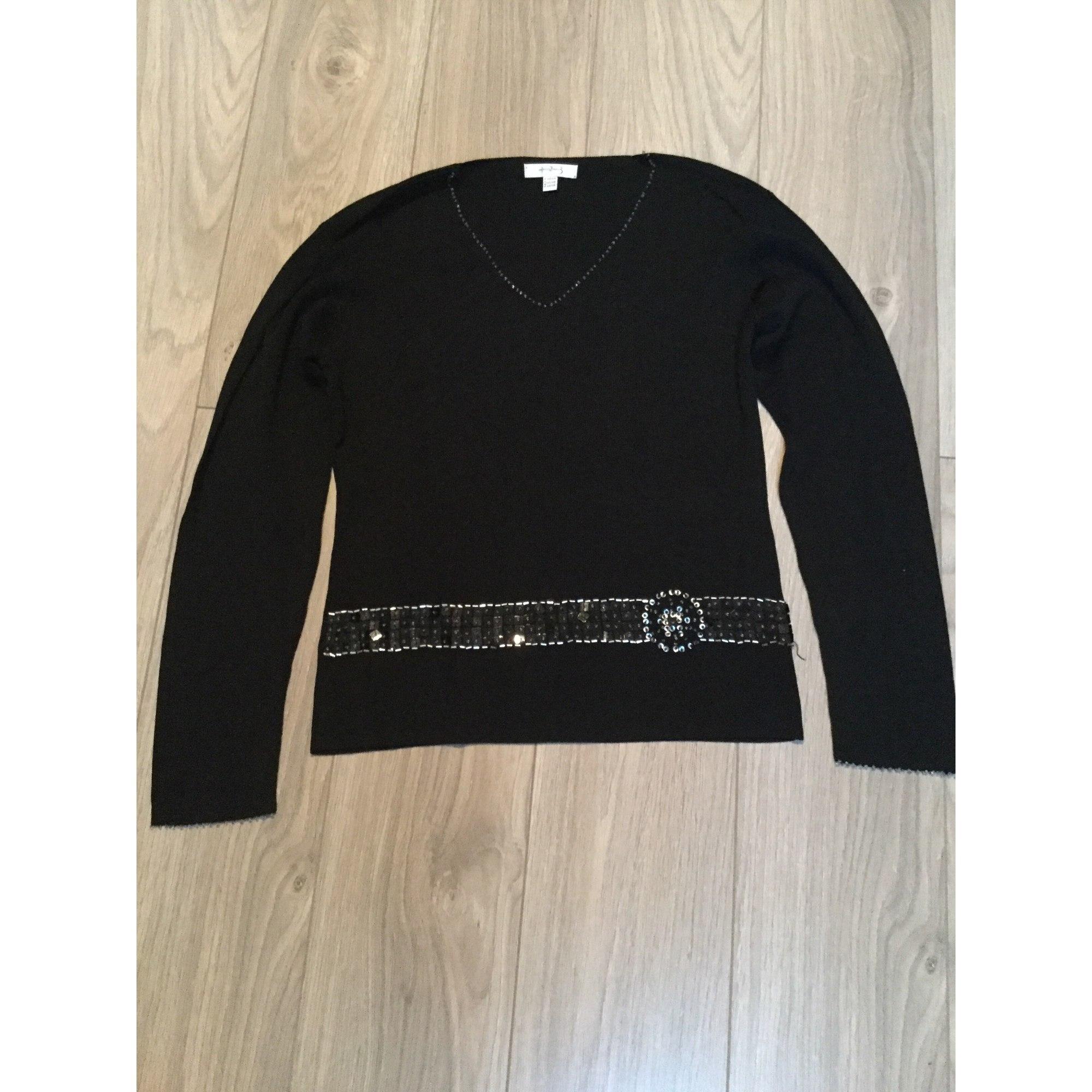Pull tunique 1.2.3 Noir