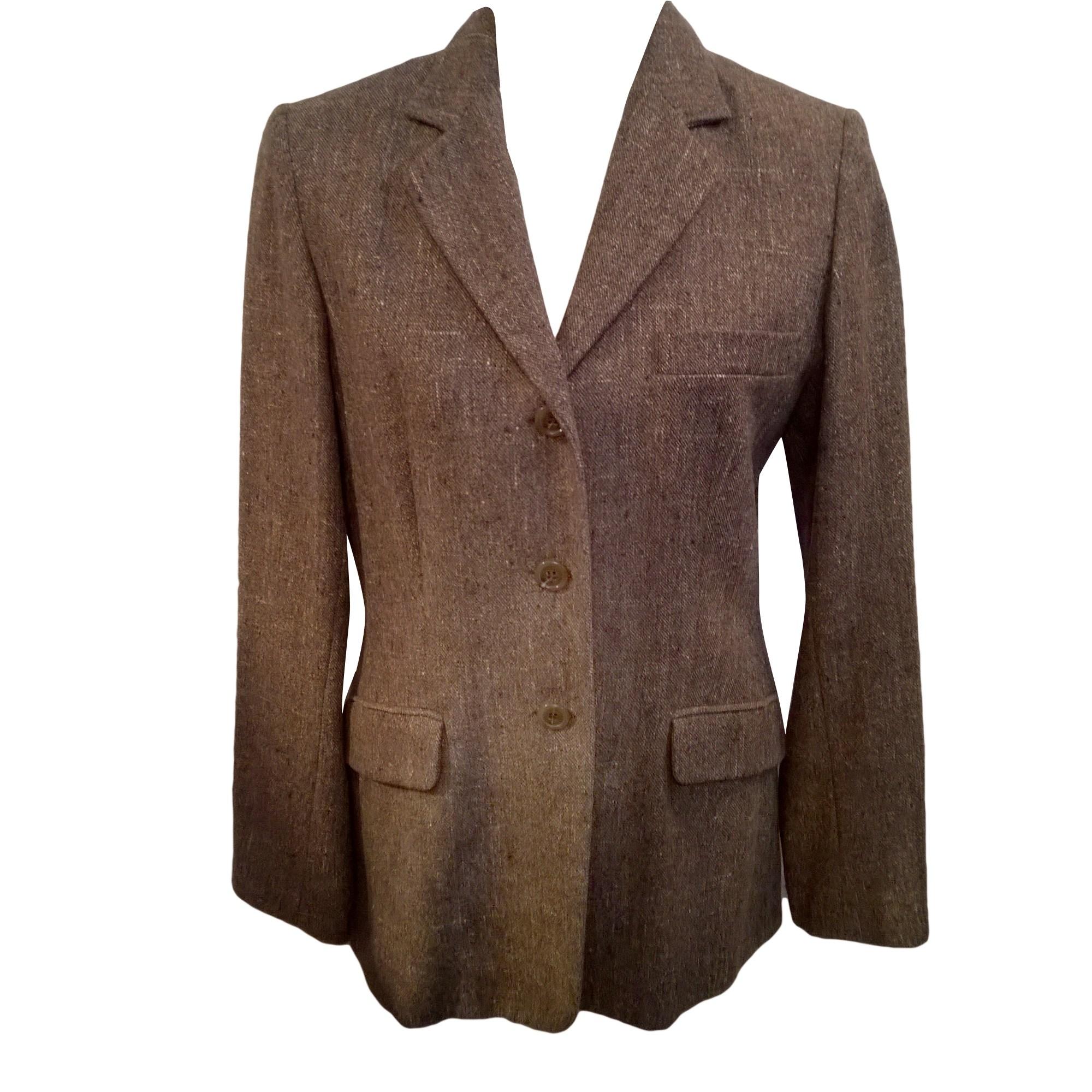 Blazer, veste tailleur GERARD DAREL Chiné brun et beige