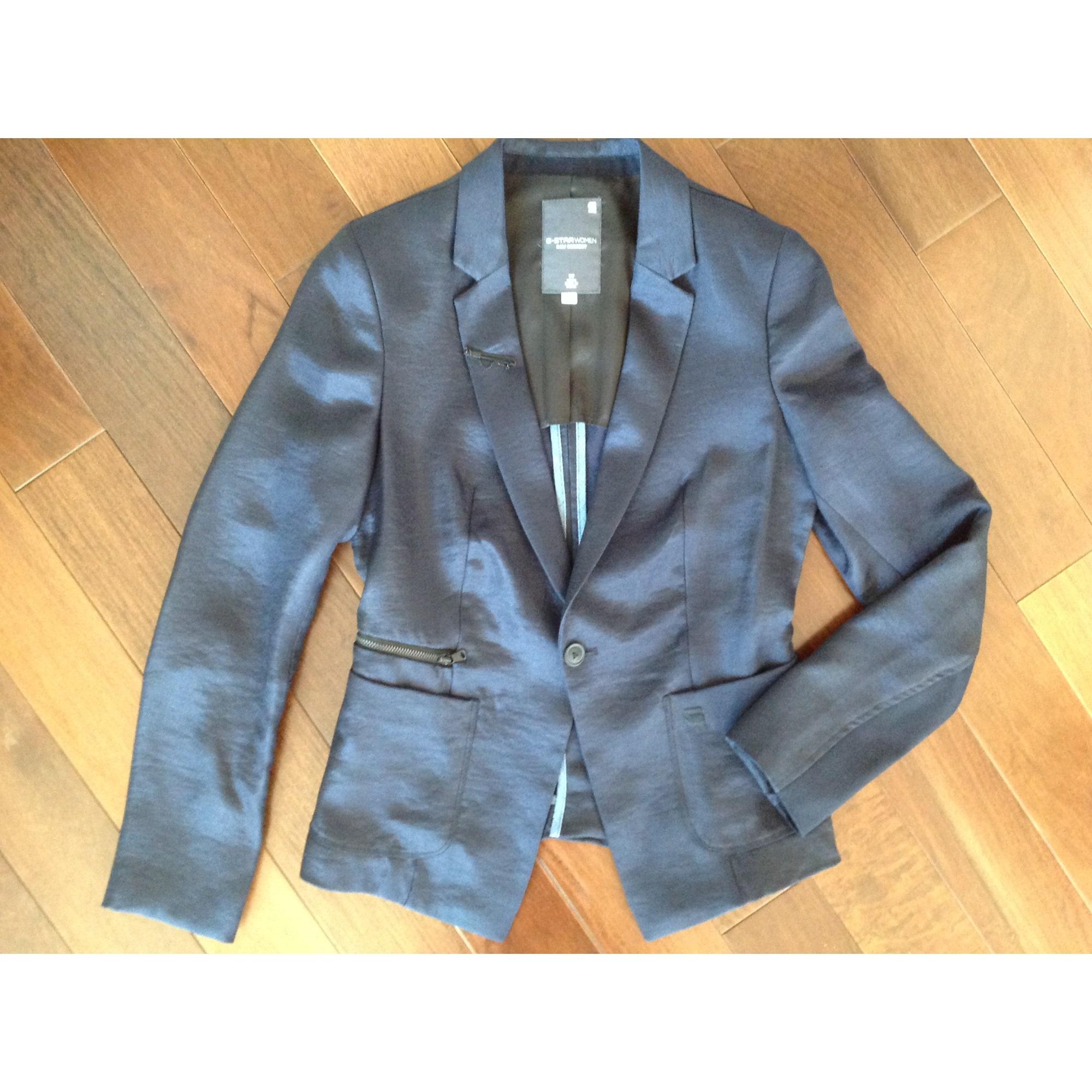 Blazer, veste tailleur G-STAR Bleu, bleu marine, bleu turquoise