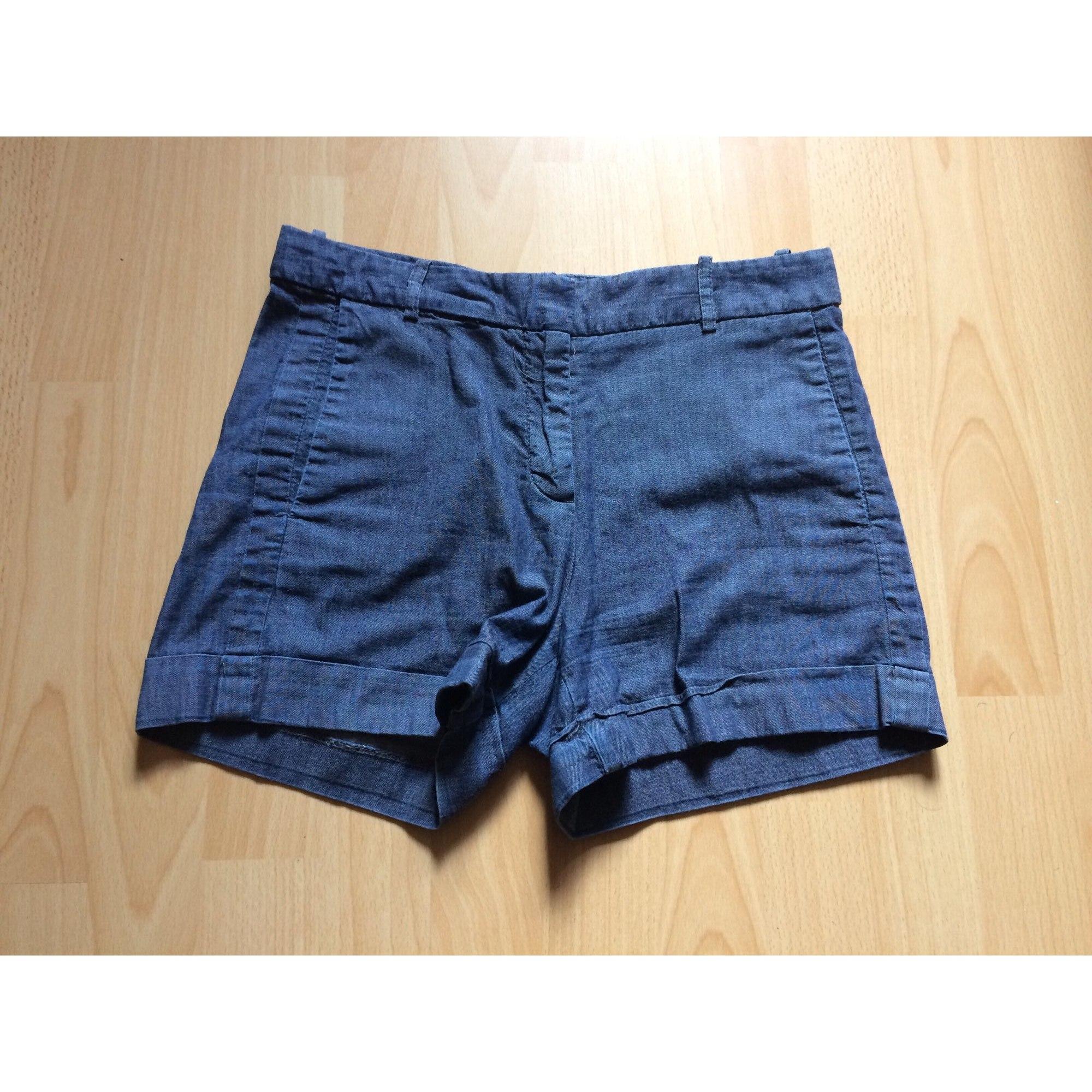 Short ZARA Bleu, bleu marine, bleu turquoise