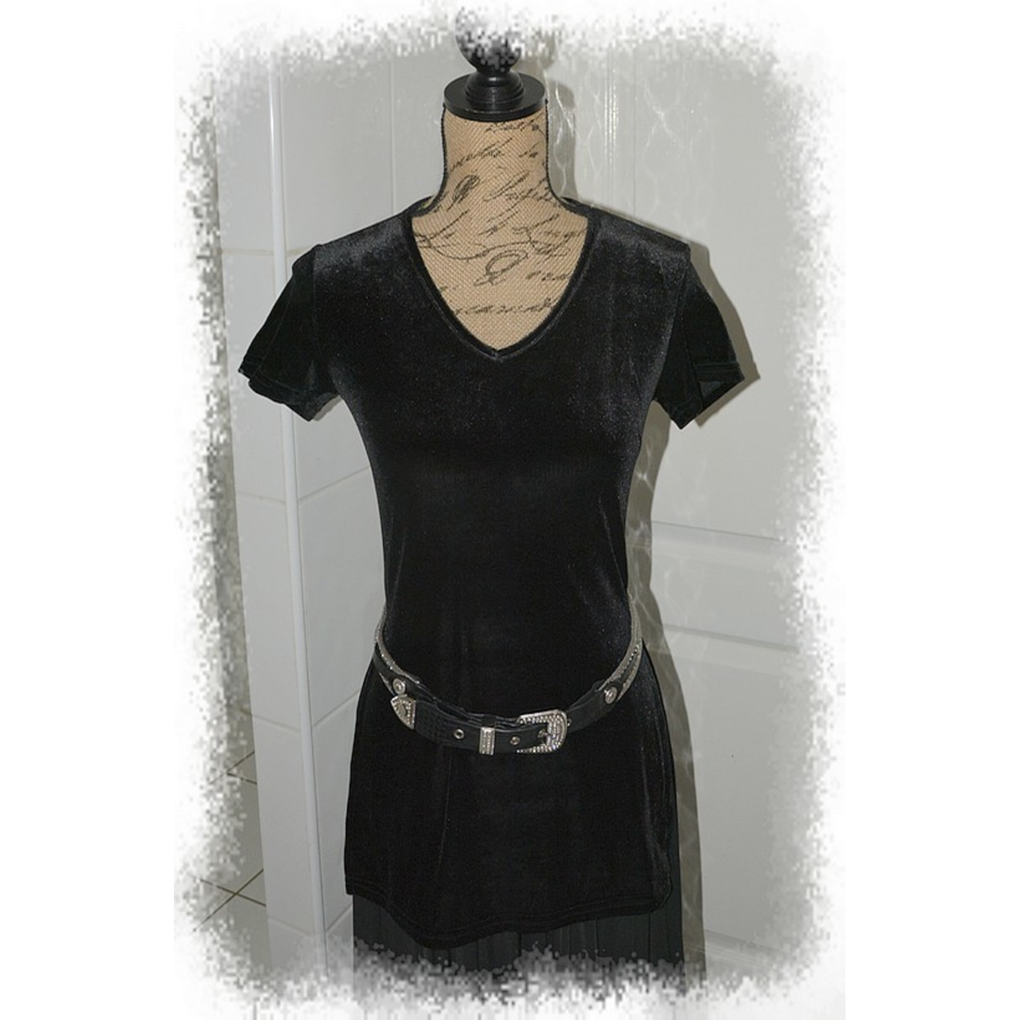 Top, tee-shirt CREEKS Noir