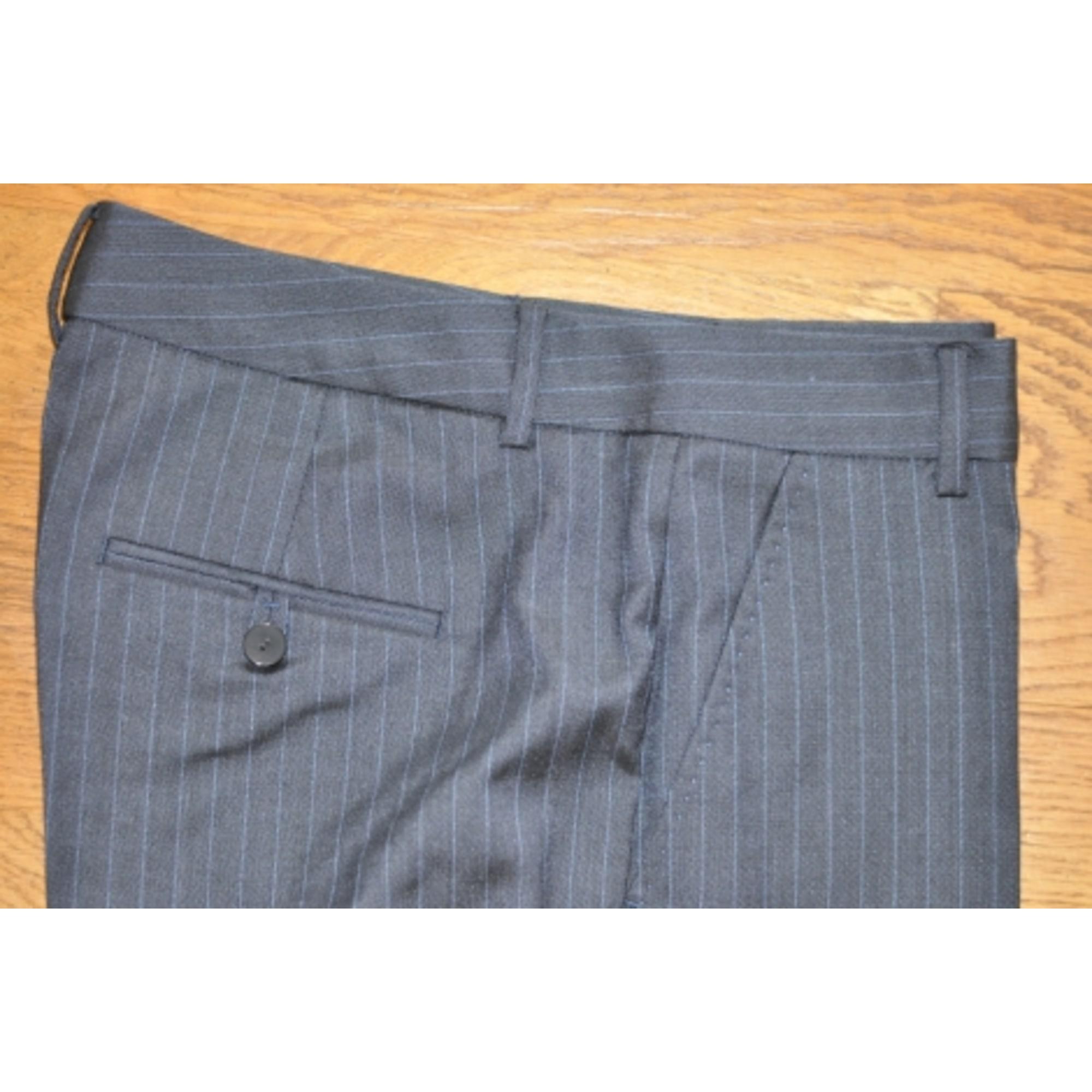 Pantalon évasé ZARA Bleu, bleu marine, bleu turquoise