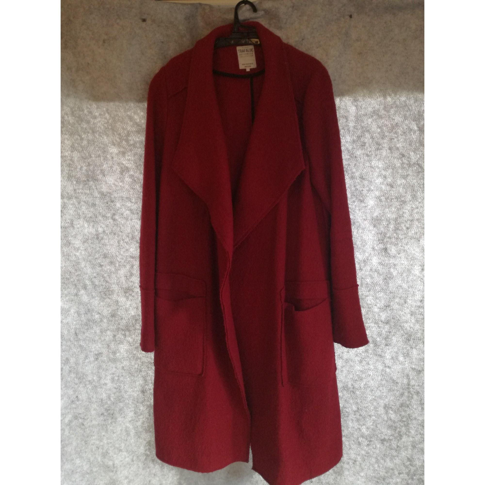 Manteau ZARA 38 (M, T2) rouge vendu par Binju 5722794