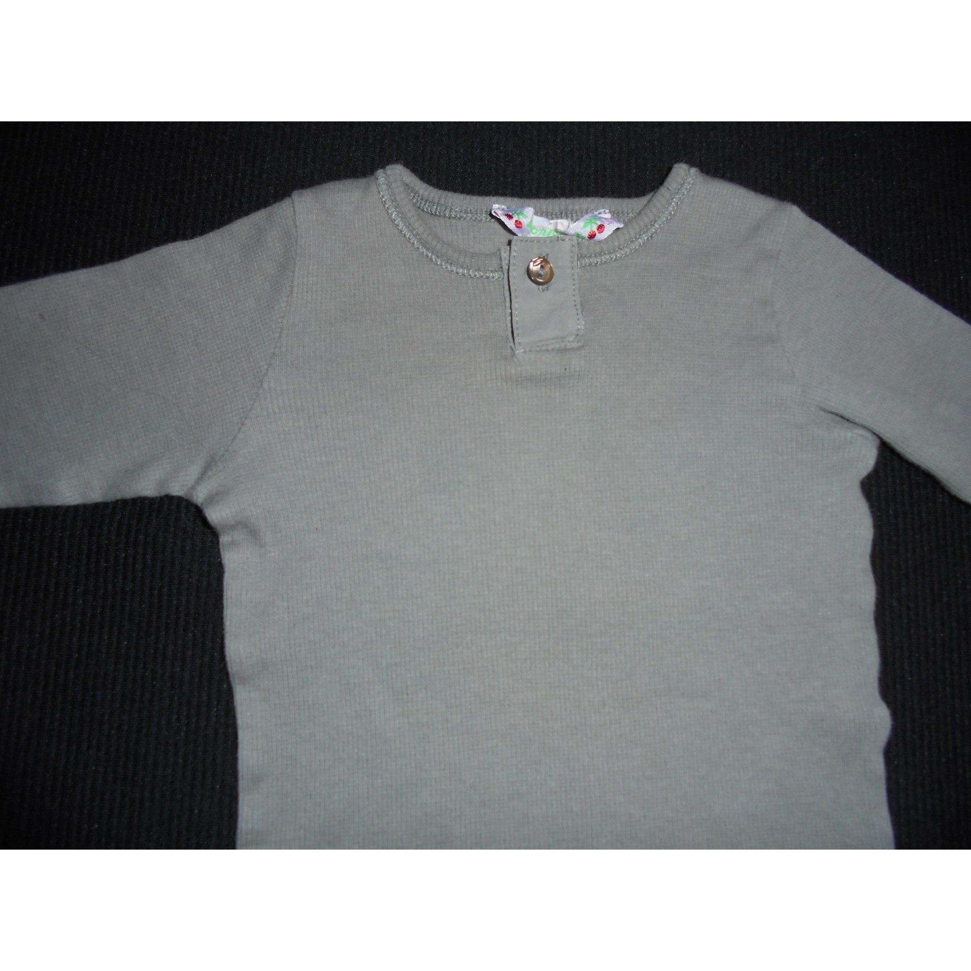 Top, tee shirt BONPOINT Kaki