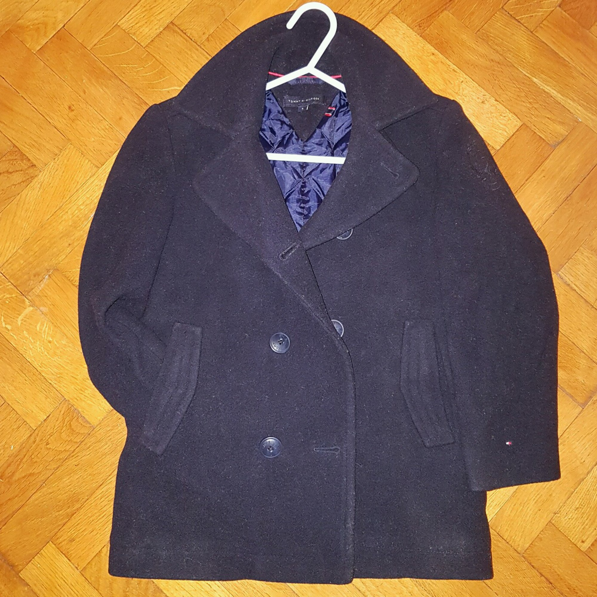 Manteau TOMMY HILFIGER Bleu, bleu marine, bleu turquoise