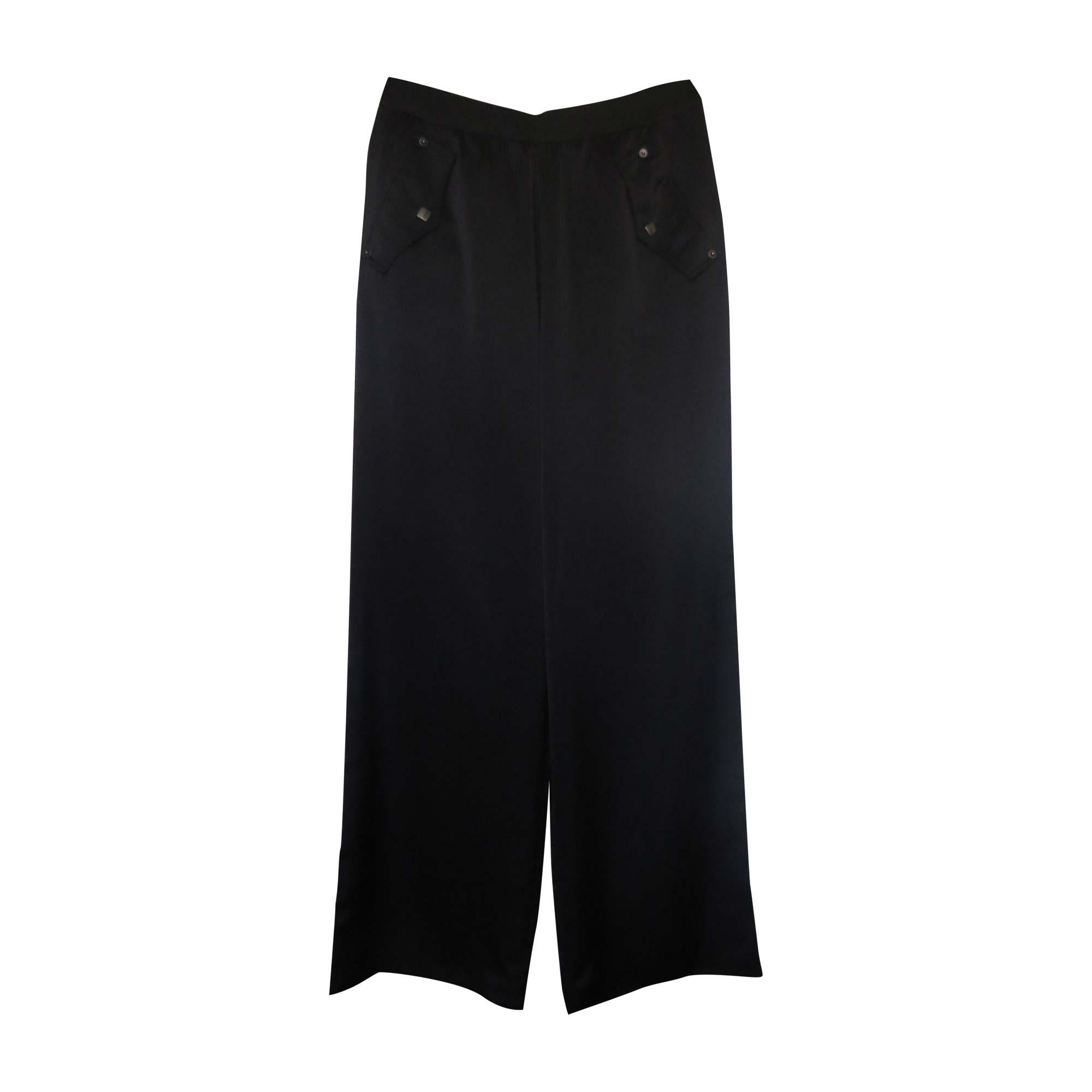 Pantalon large GIANFRANCO FERRE Noir