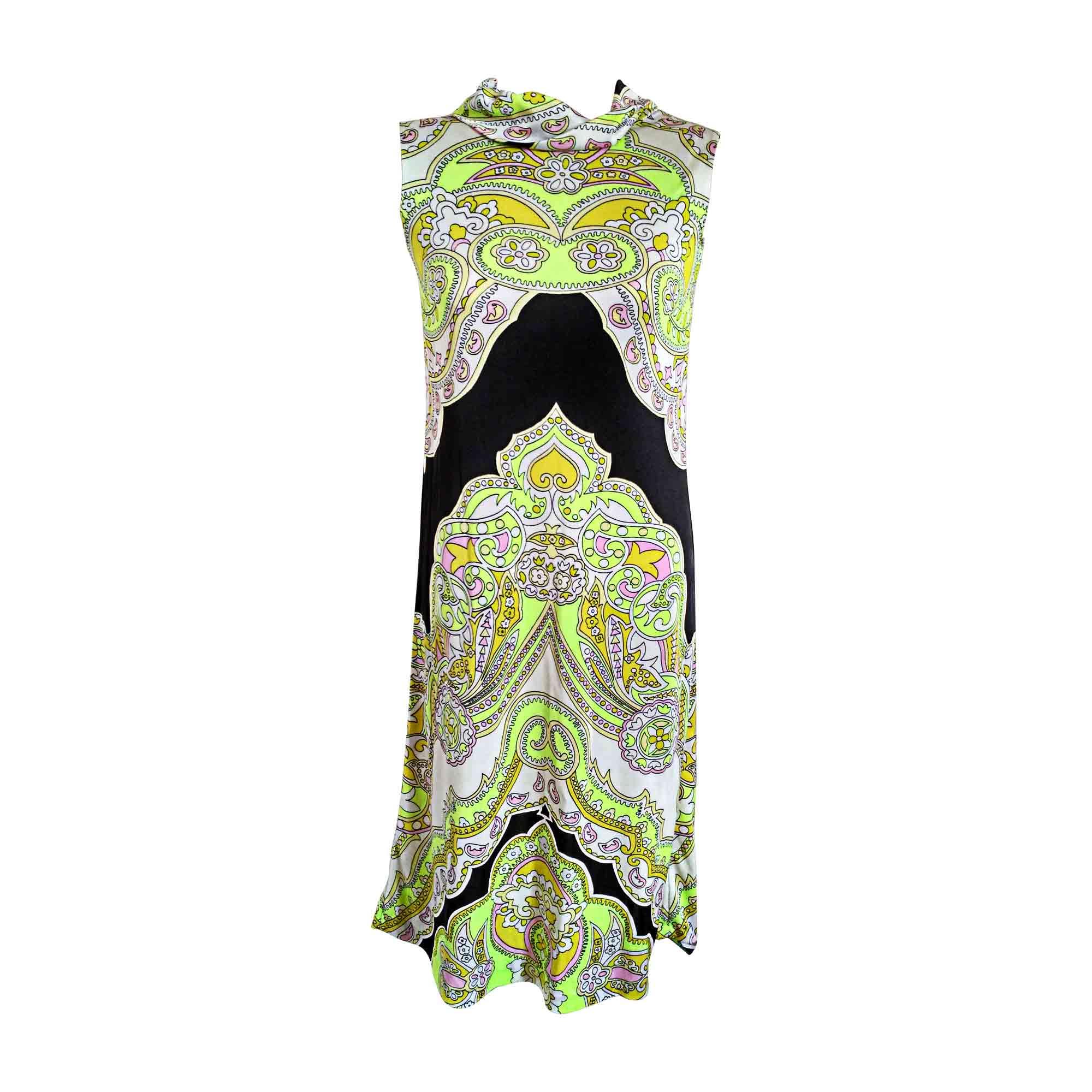 Robe mi-longue LEONARD Multicouleur