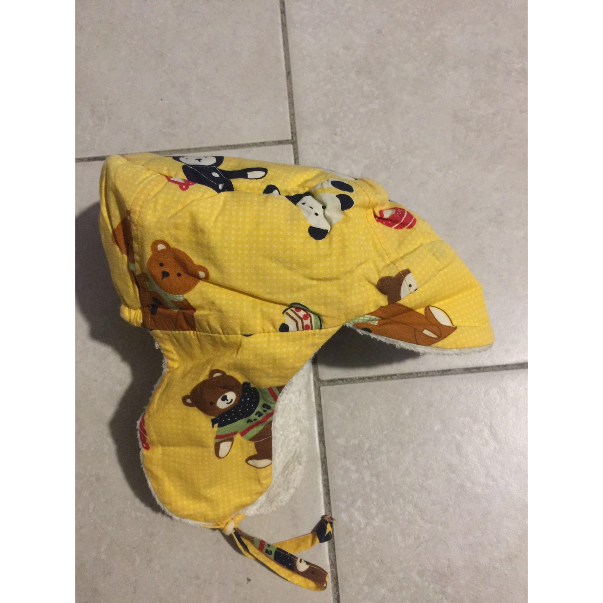 Bonnet CATIMINI Jaune