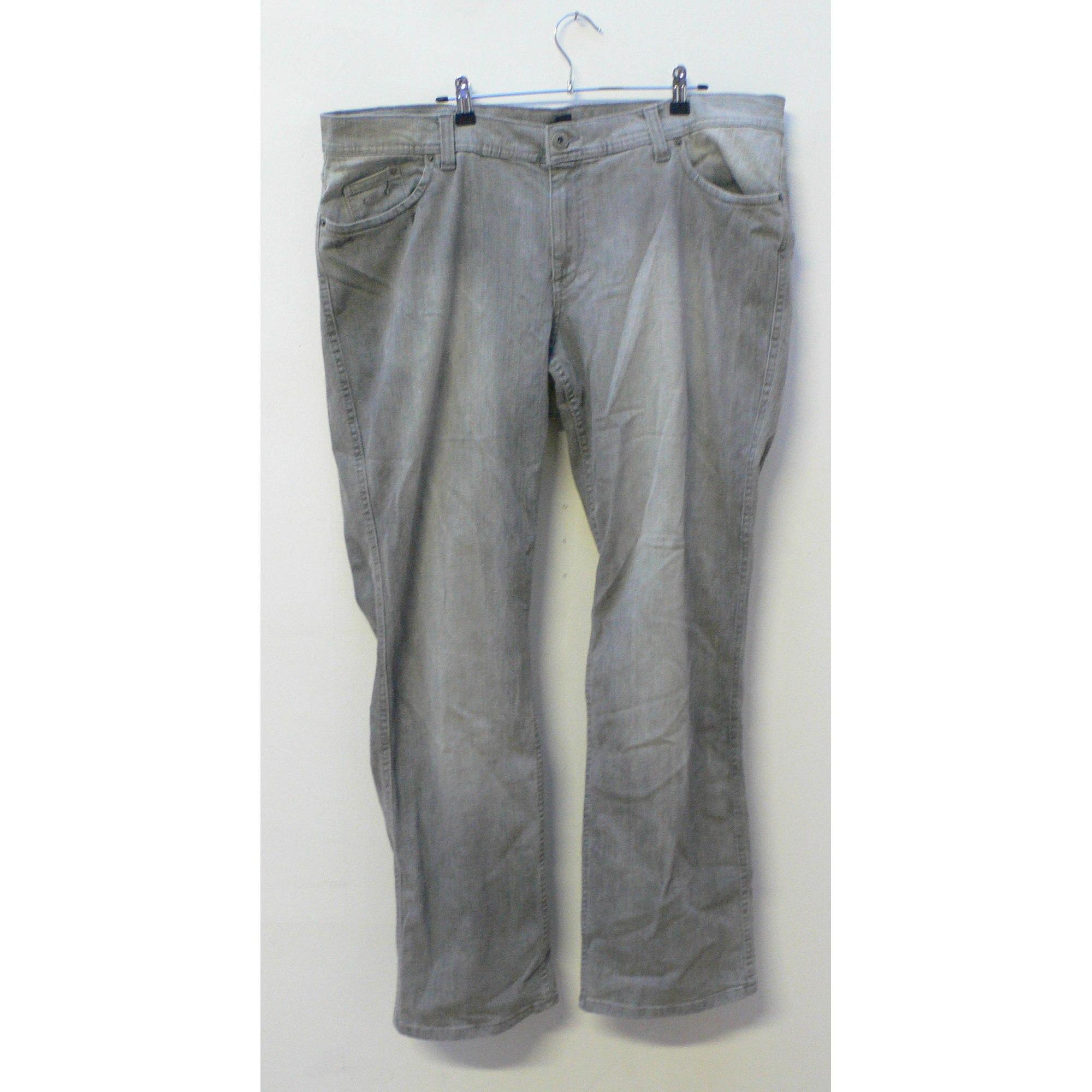 Jeans évasé, boot-cut H&M Gris, anthracite